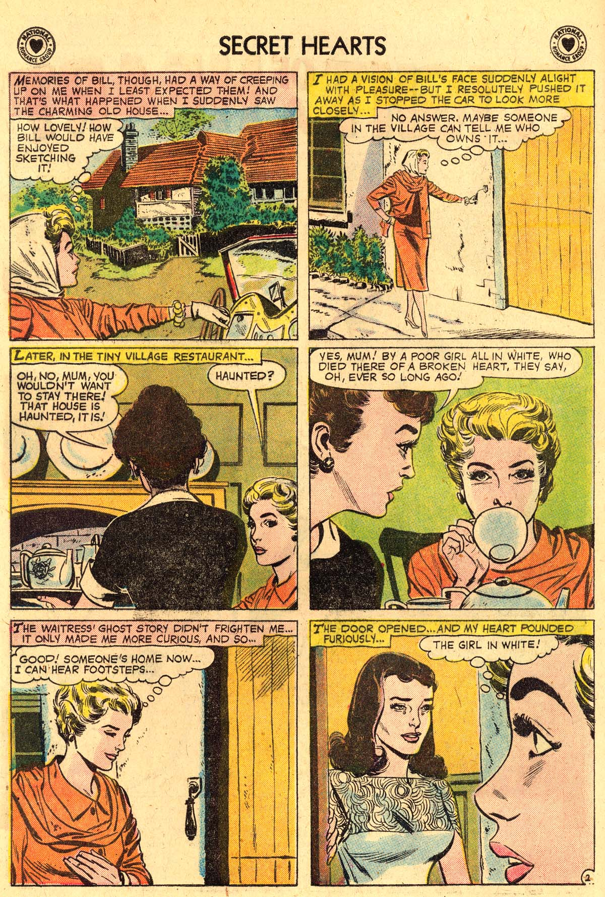 Read online Secret Hearts comic -  Issue #57 - 4