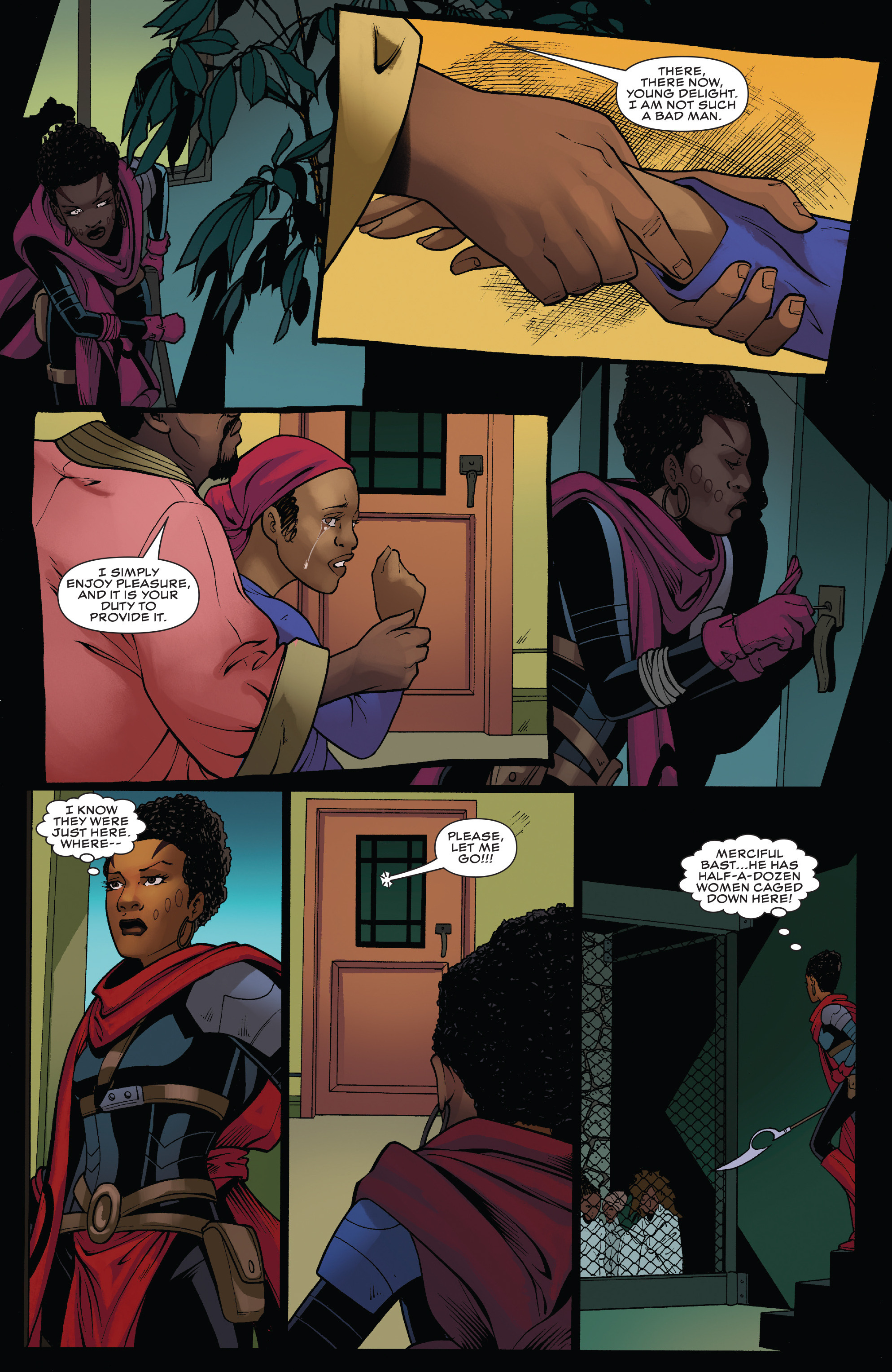 Read online Black Panther: World of Wakanda comic -  Issue #4 - 17