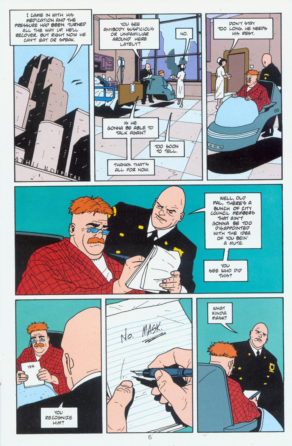 Read online Terminal City comic -  Issue #6 - 7