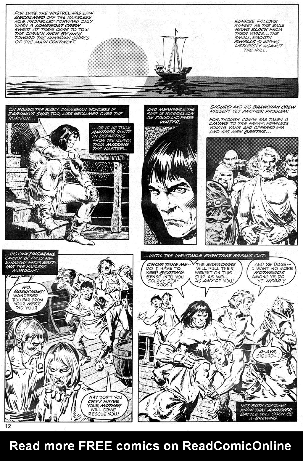 The Savage Sword Of Conan Issue #41 #42 - English 12