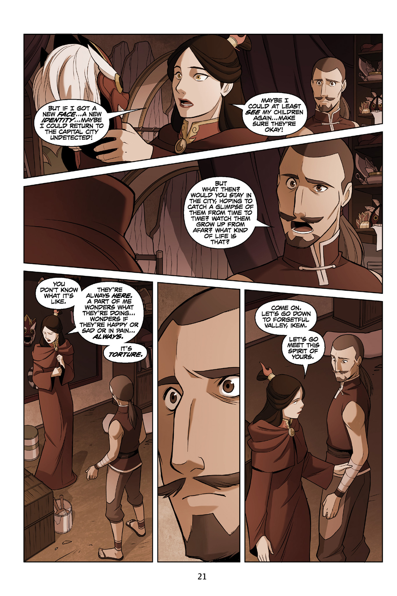 Read online Nickelodeon Avatar: The Last Airbender - The Search comic -  Issue # Part 3 - 22