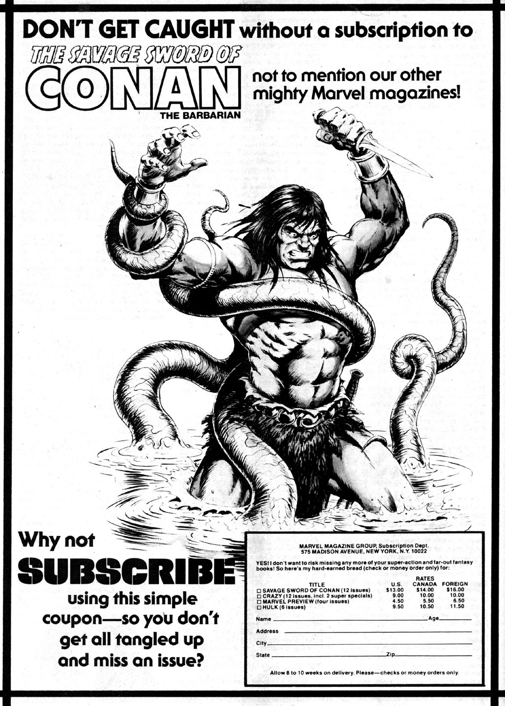 The Savage Sword Of Conan Issue #42 #43 - English 66