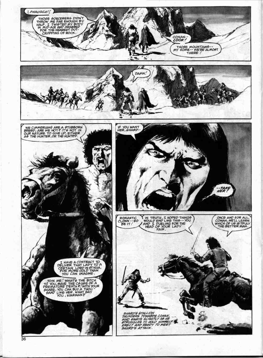 The Savage Sword Of Conan Issue #74 #75 - English 35