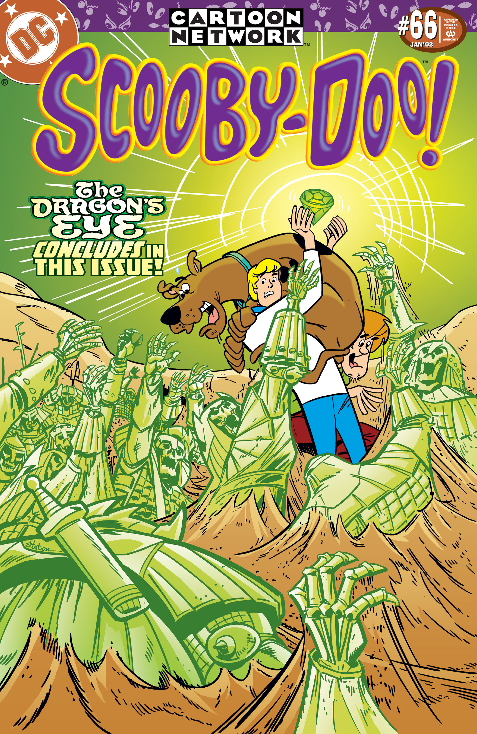 Read online Scooby-Doo (1997) comic -  Issue #66 - 1