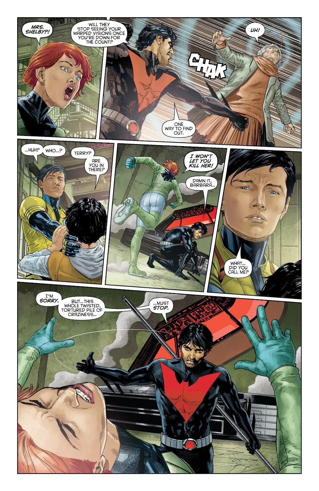Batman Beyond (2015) Issue #16 #16 - English 10