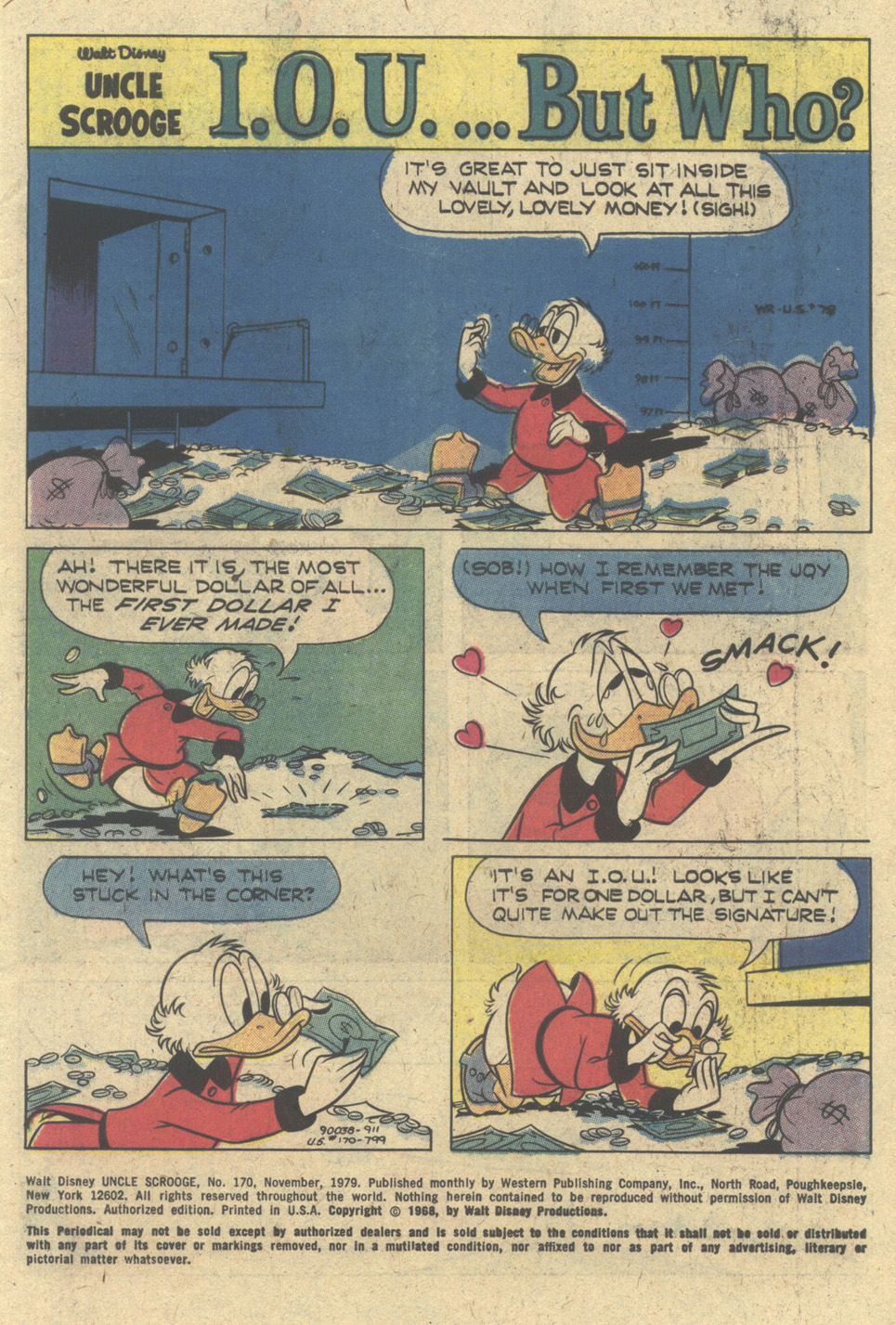 Uncle Scrooge (1953) Issue #170 #170 - English 3