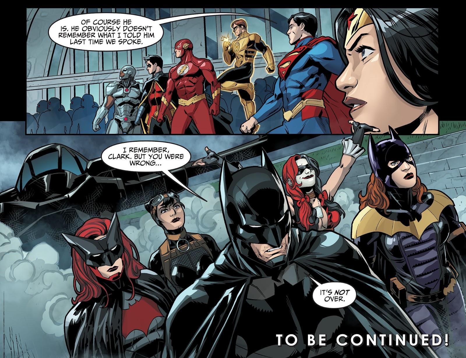 Injustice: Gods Among Us Year Four Issue #6 #7 - English 22