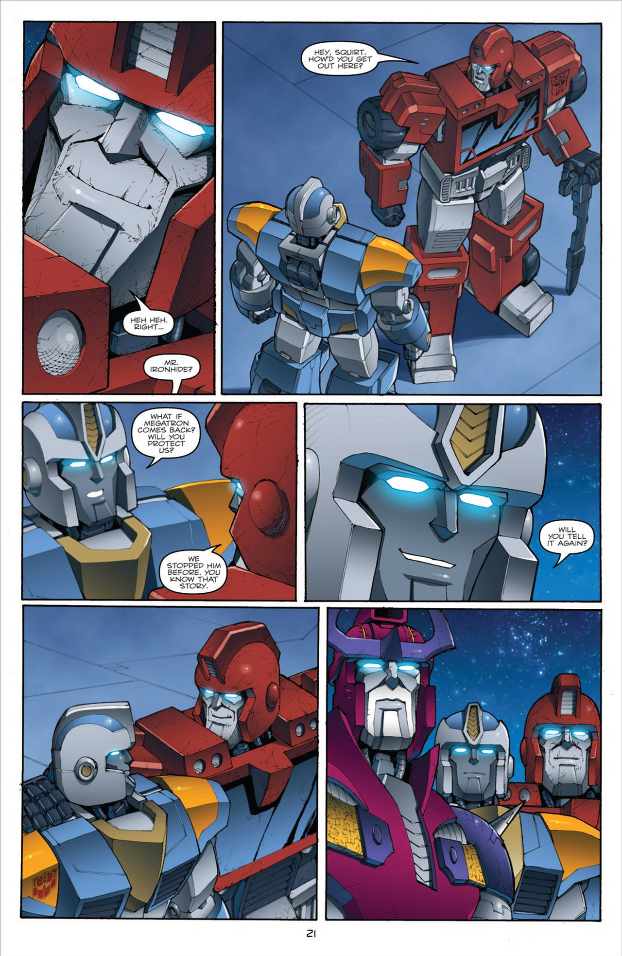 The Transformers (2009) chap 31 pic 25