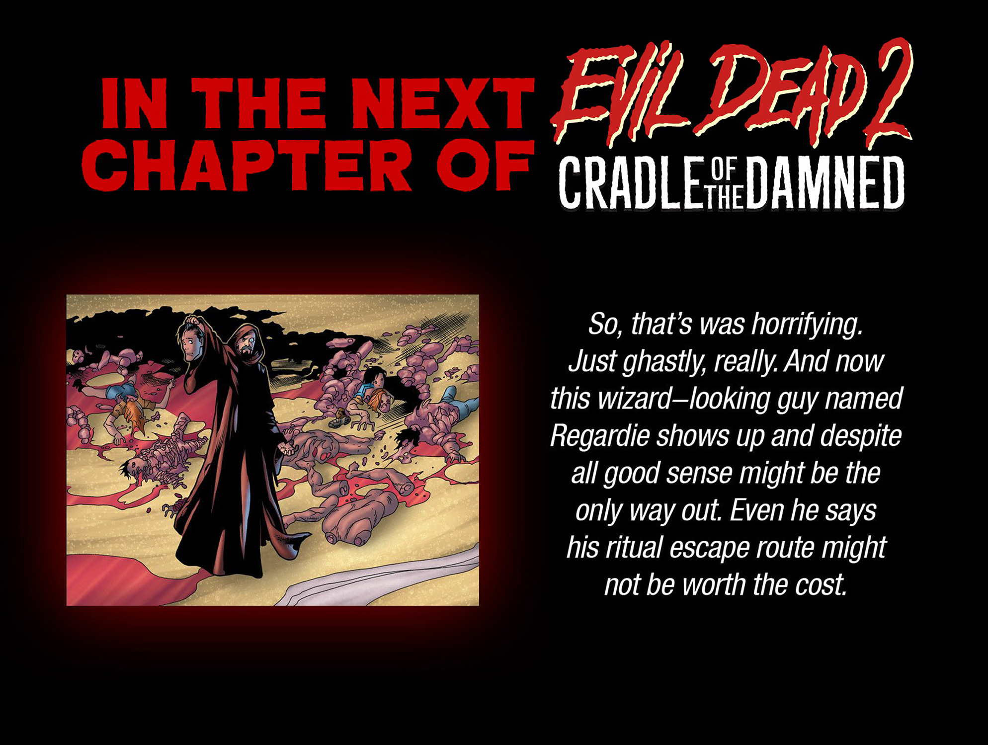 Read online Evil Dead 2: Cradle of the Damned comic -  Issue #3 - 24