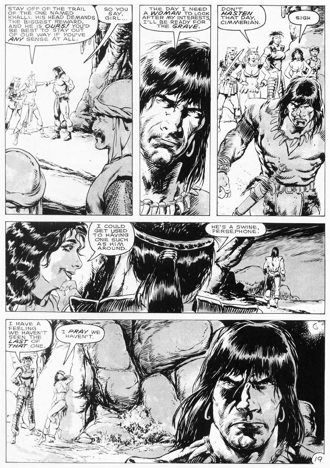 The Savage Sword Of Conan Issue #154 #155 - English 22
