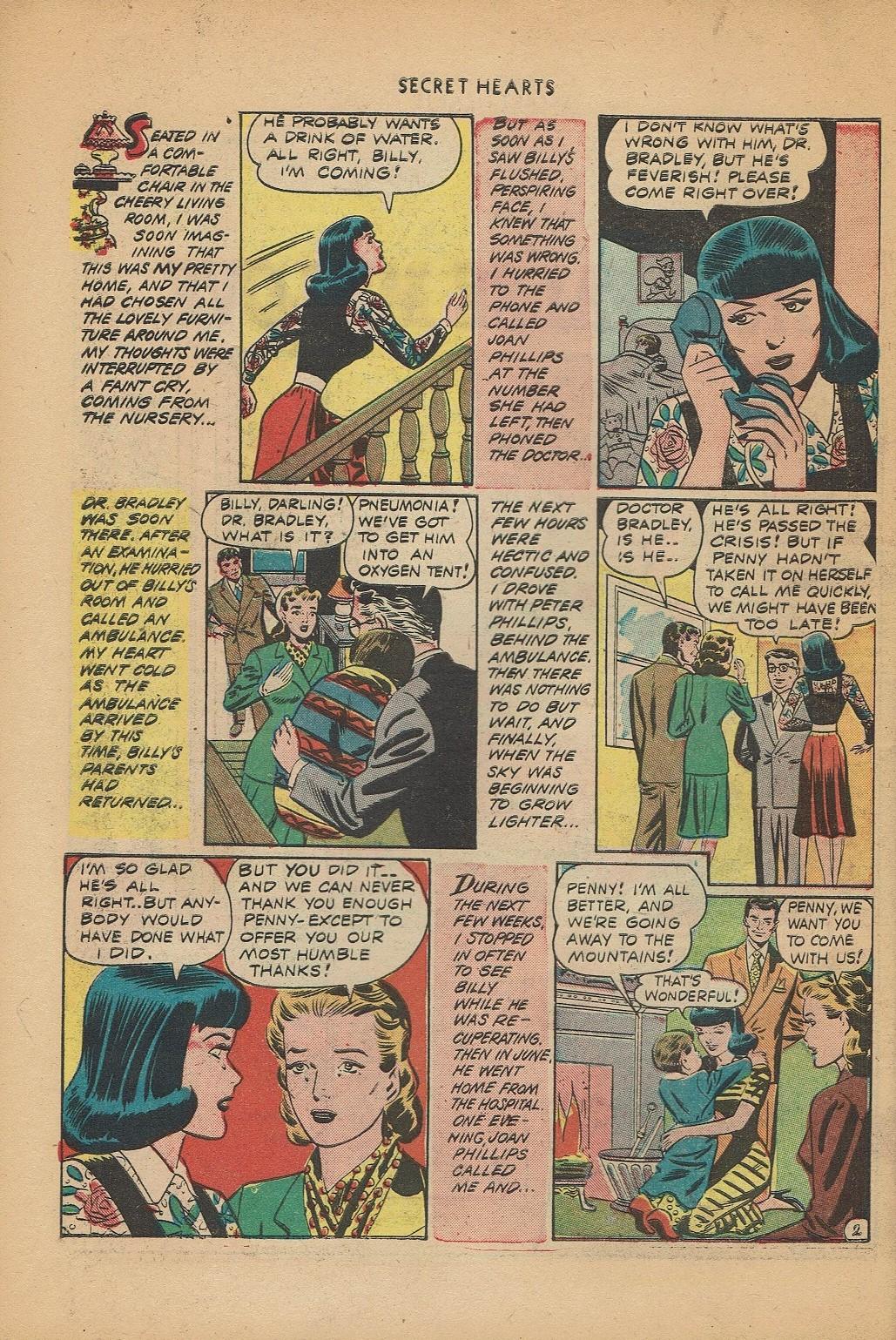 Read online Secret Hearts comic -  Issue #2 - 26