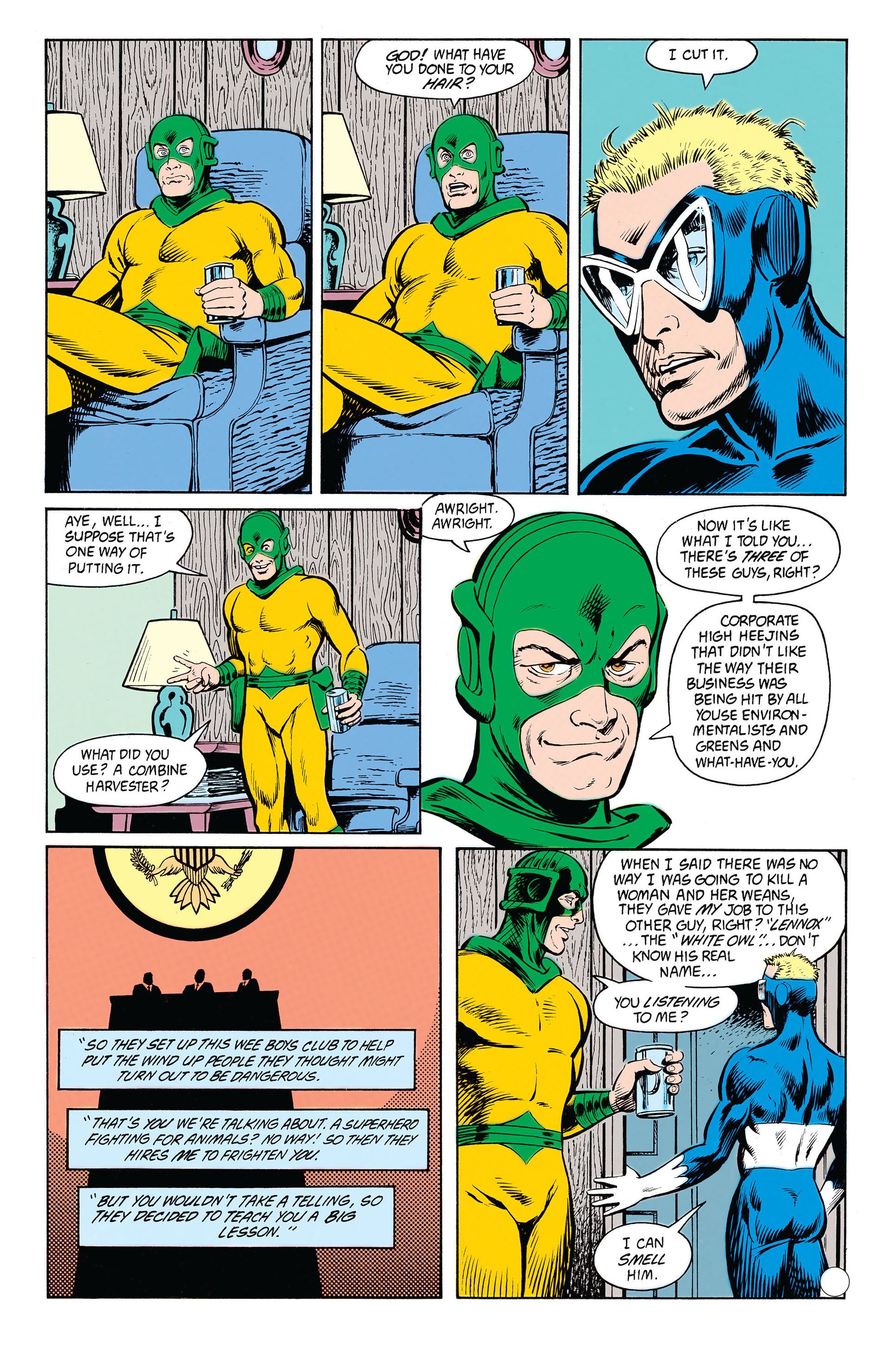 Animal Man (1988) 21 Page 3