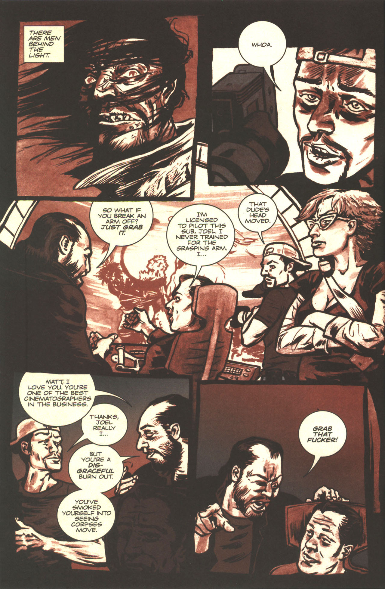 Read online Sea of Red comic -  Issue #2 - 6
