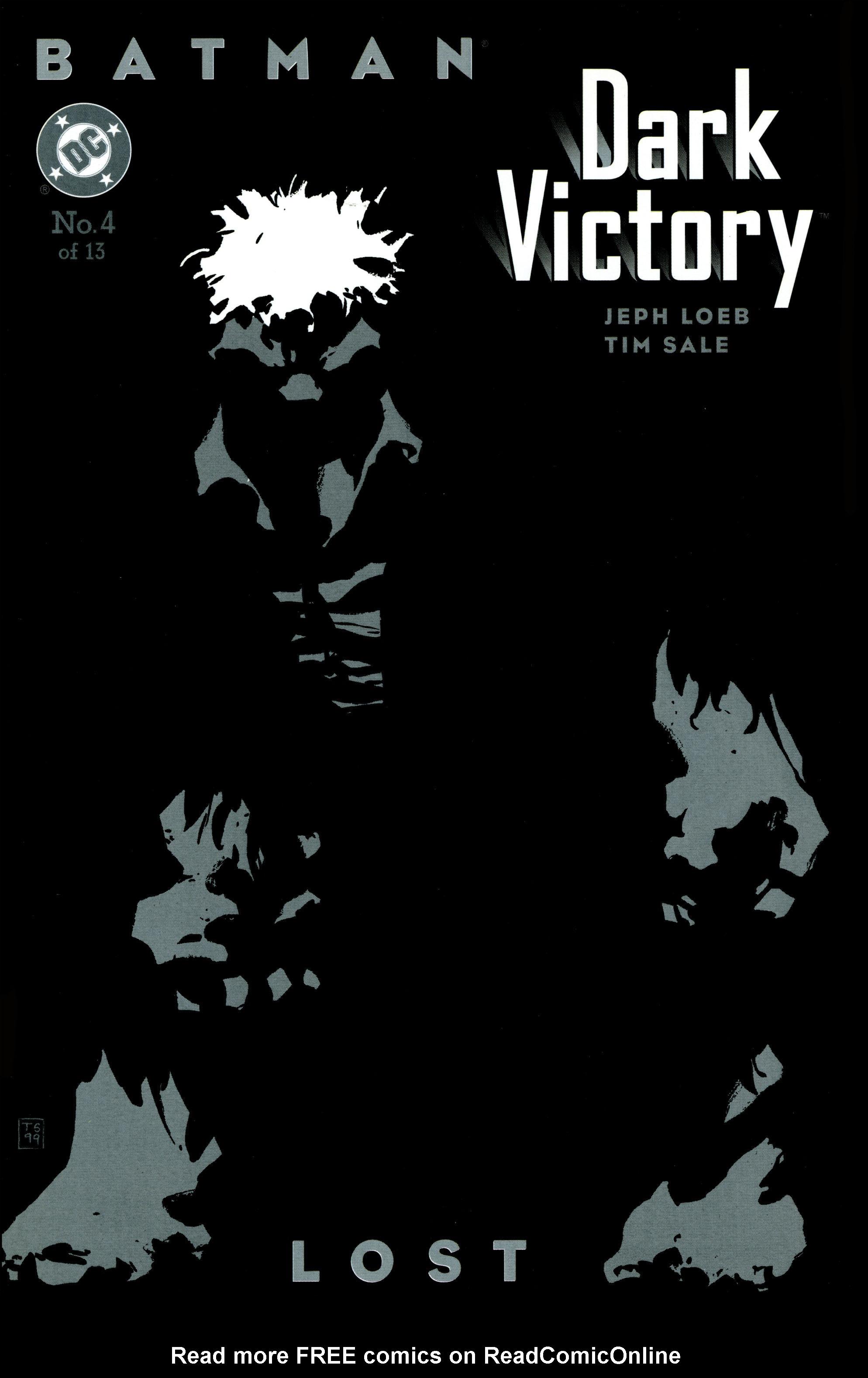 Batman: Dark Victory (1999) 4 Page 1
