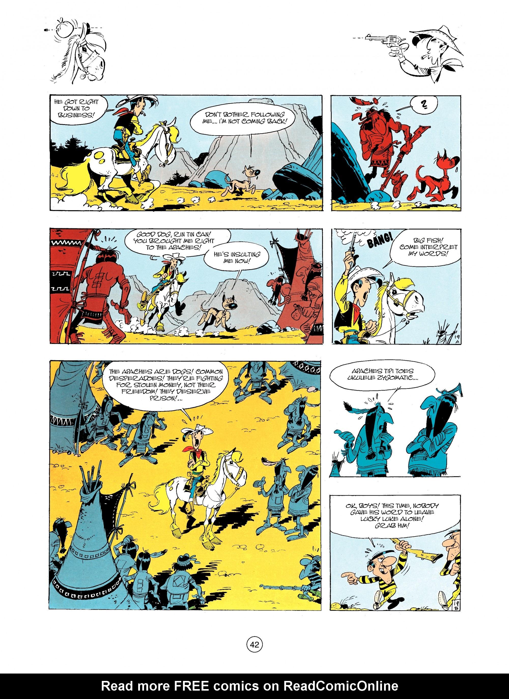 A Lucky Luke Adventure 34 Page 41