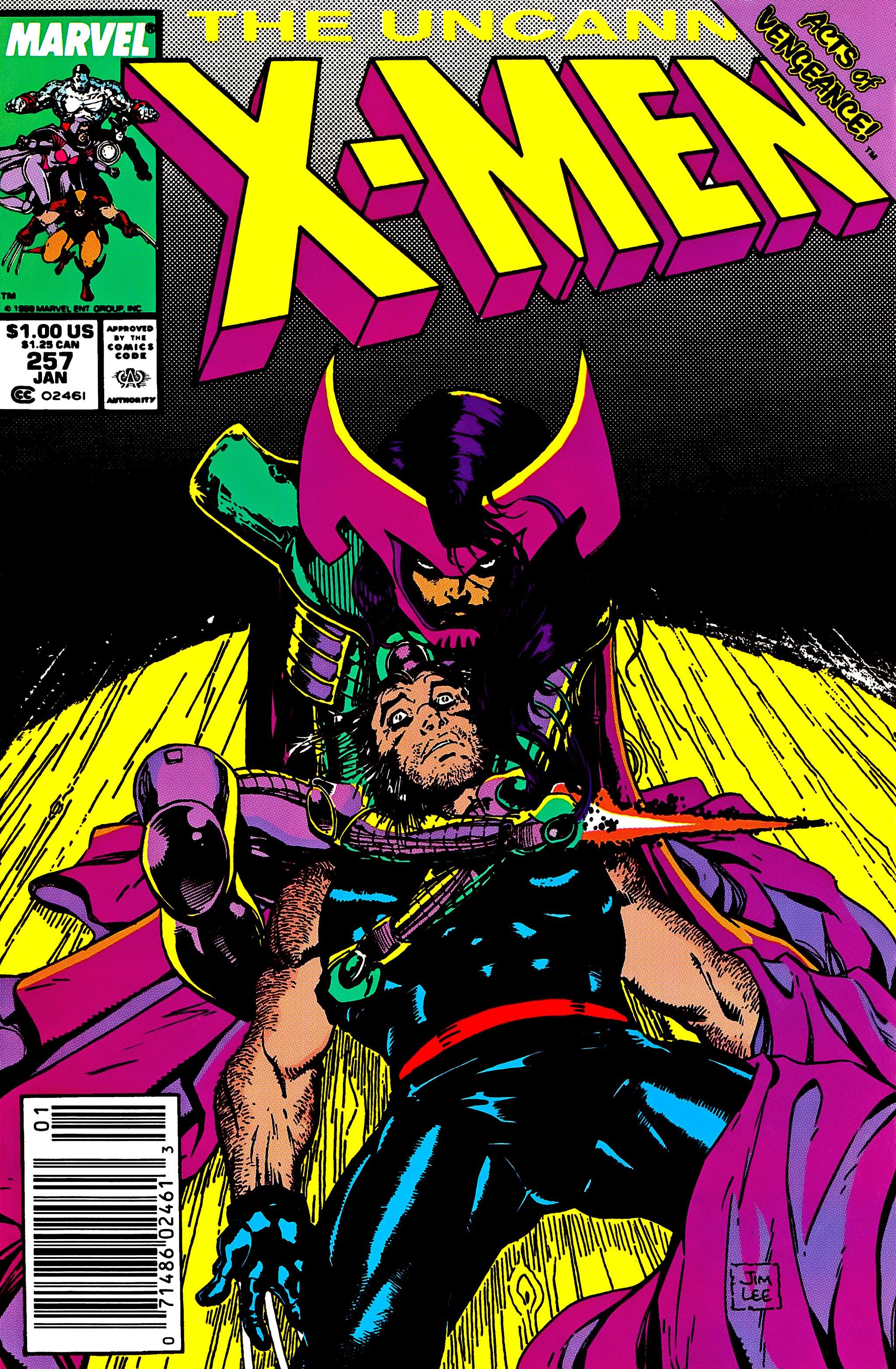 Uncanny X-Men (1963) 257 Page 1