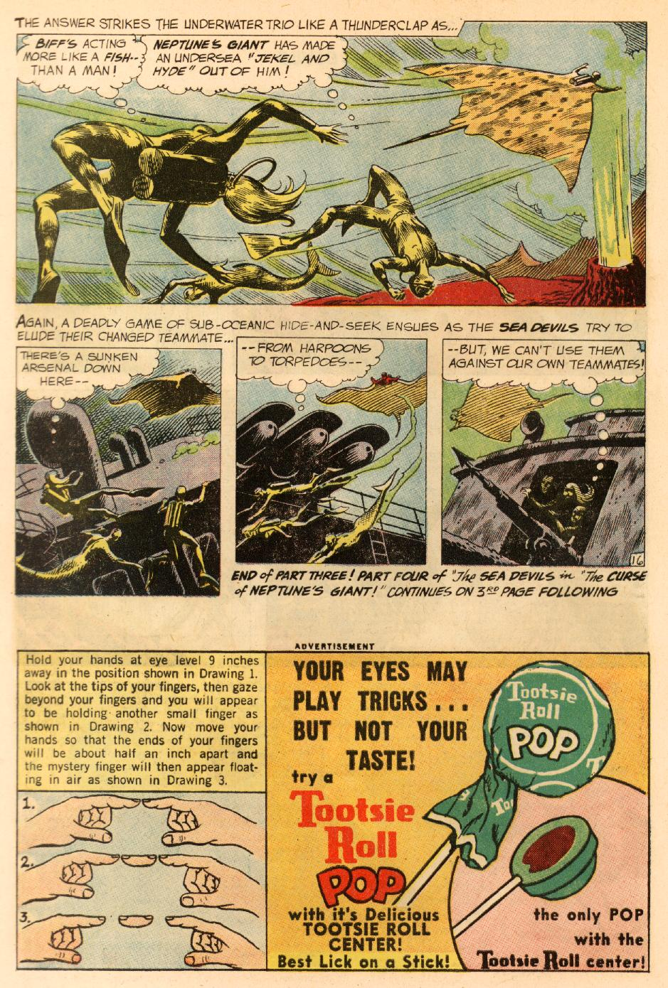 Read online Sea Devils comic -  Issue #8 - 23