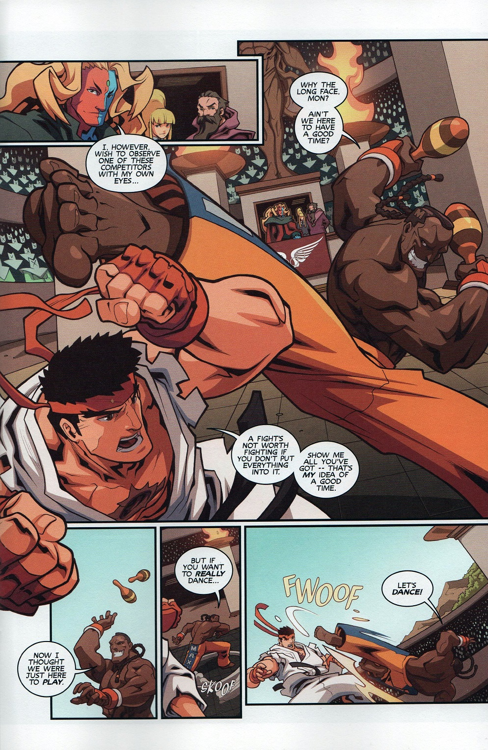 Street Fighter Unlimited Issue #8 #10 - English 7