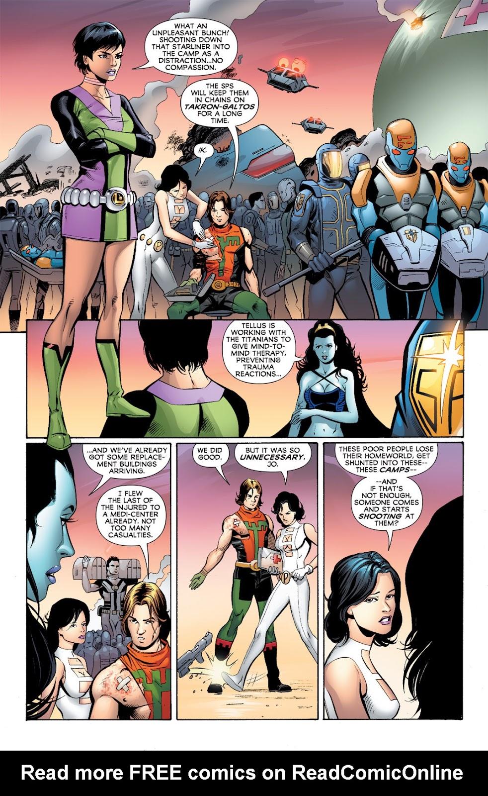 Legion of Super-Heroes (2010) Issue #5 #6 - English 27