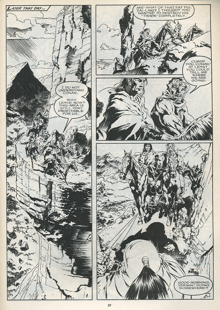 The Savage Sword Of Conan Issue #175 #176 - English 29