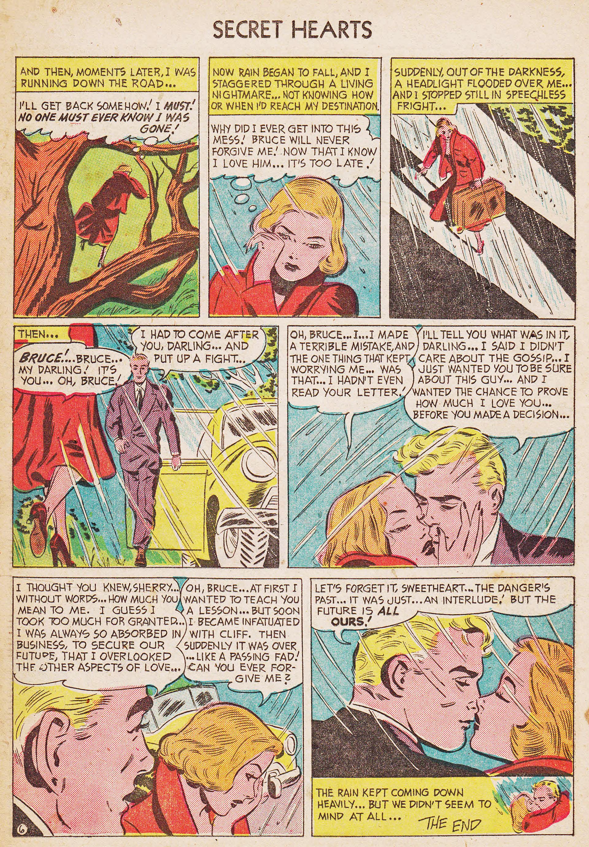 Read online Secret Hearts comic -  Issue #7 - 16