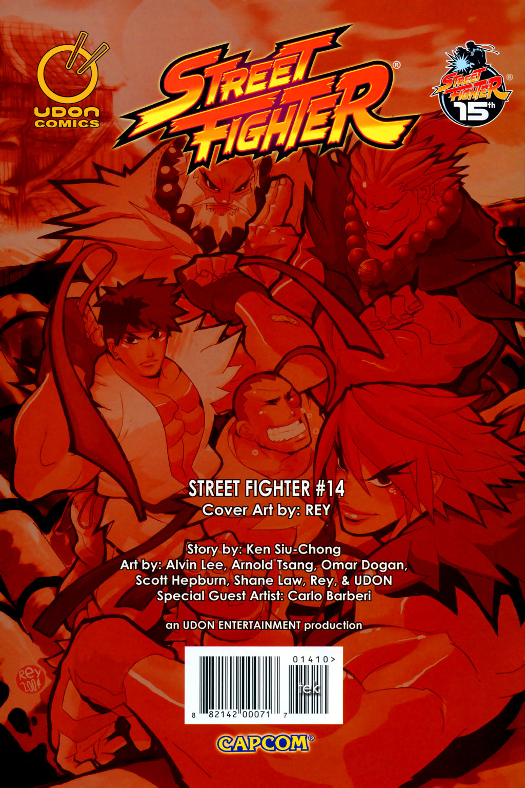 Street Fighter (2003) Issue #14 #15 - English 29