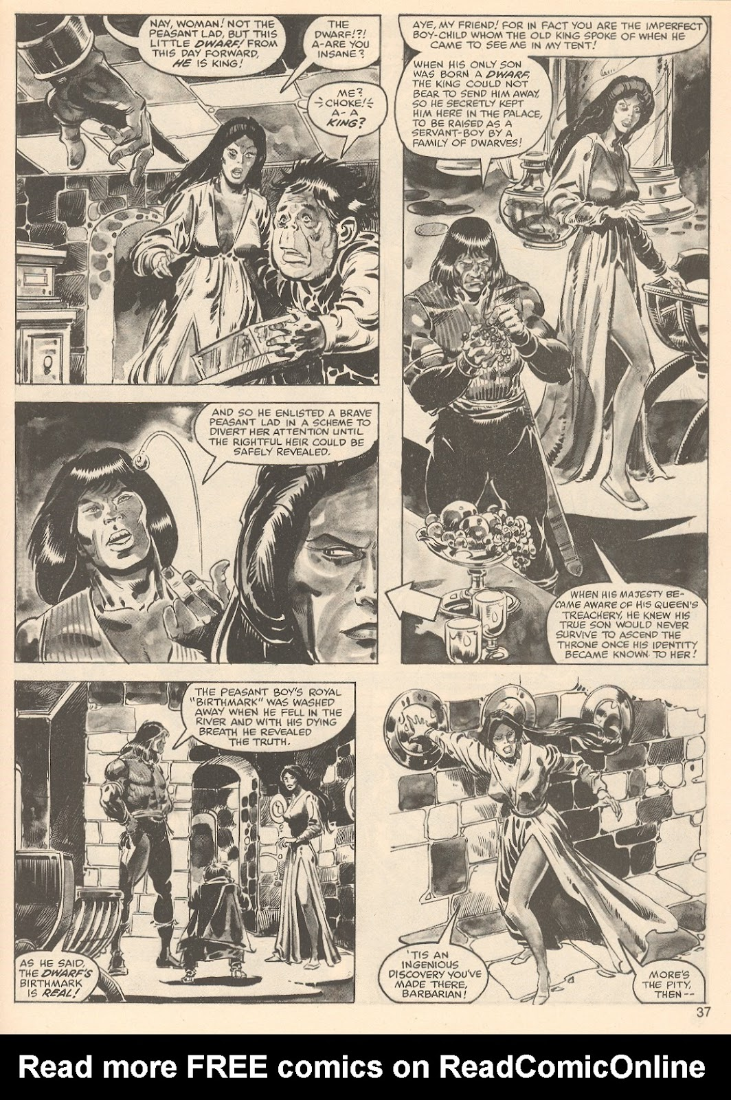 The Savage Sword Of Conan Issue #76 #77 - English 37