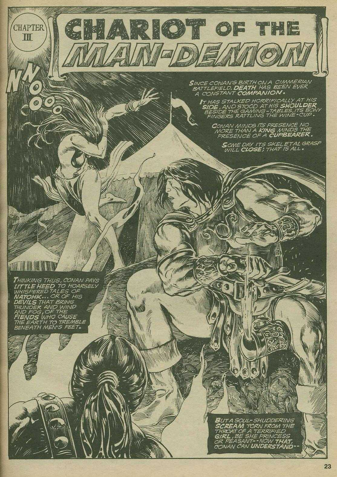 The Savage Sword Of Conan Issue #2 #3 - English 22