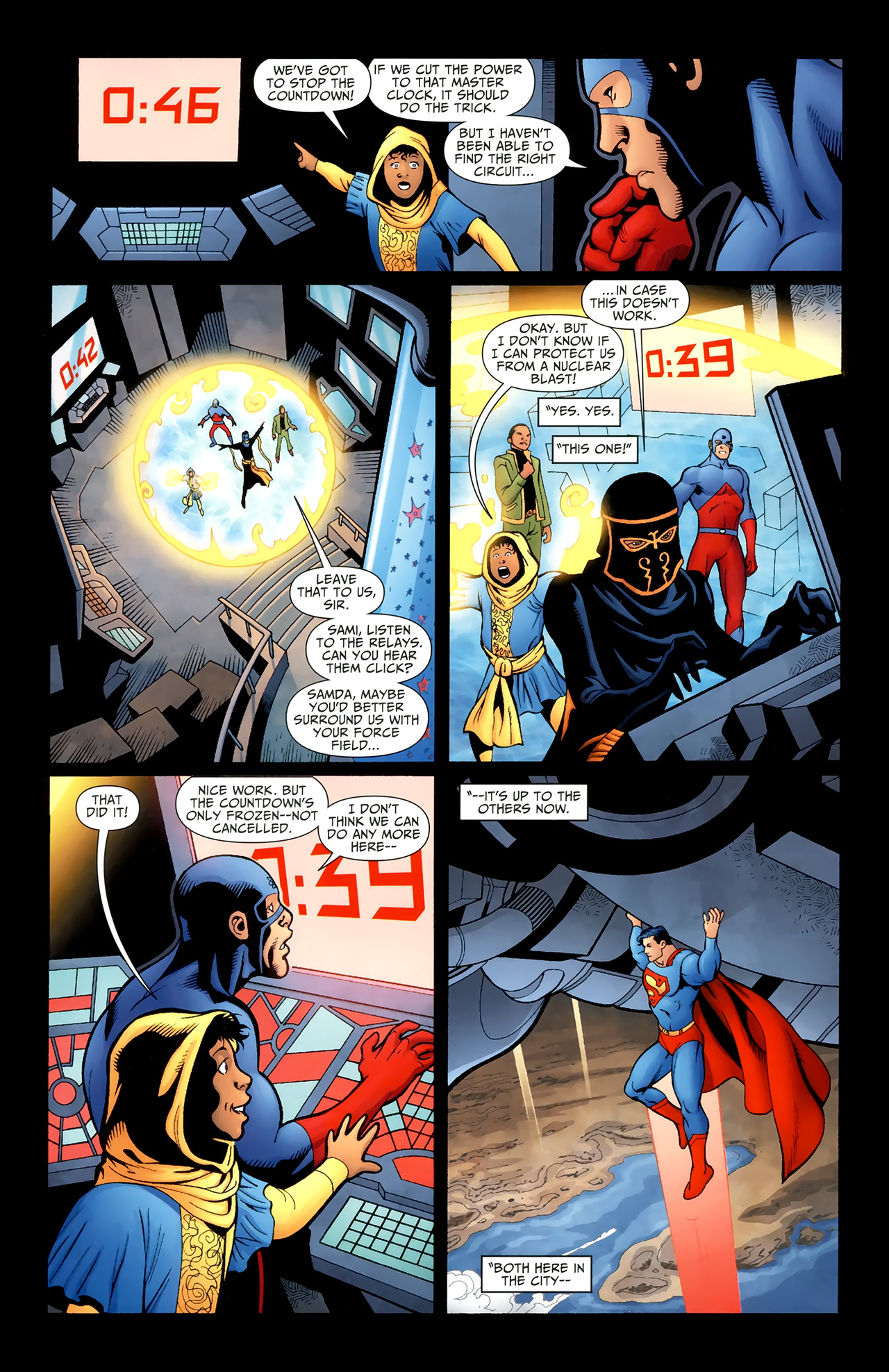 Read online Justice League of America/The 99 comic -  Issue #6 - 8