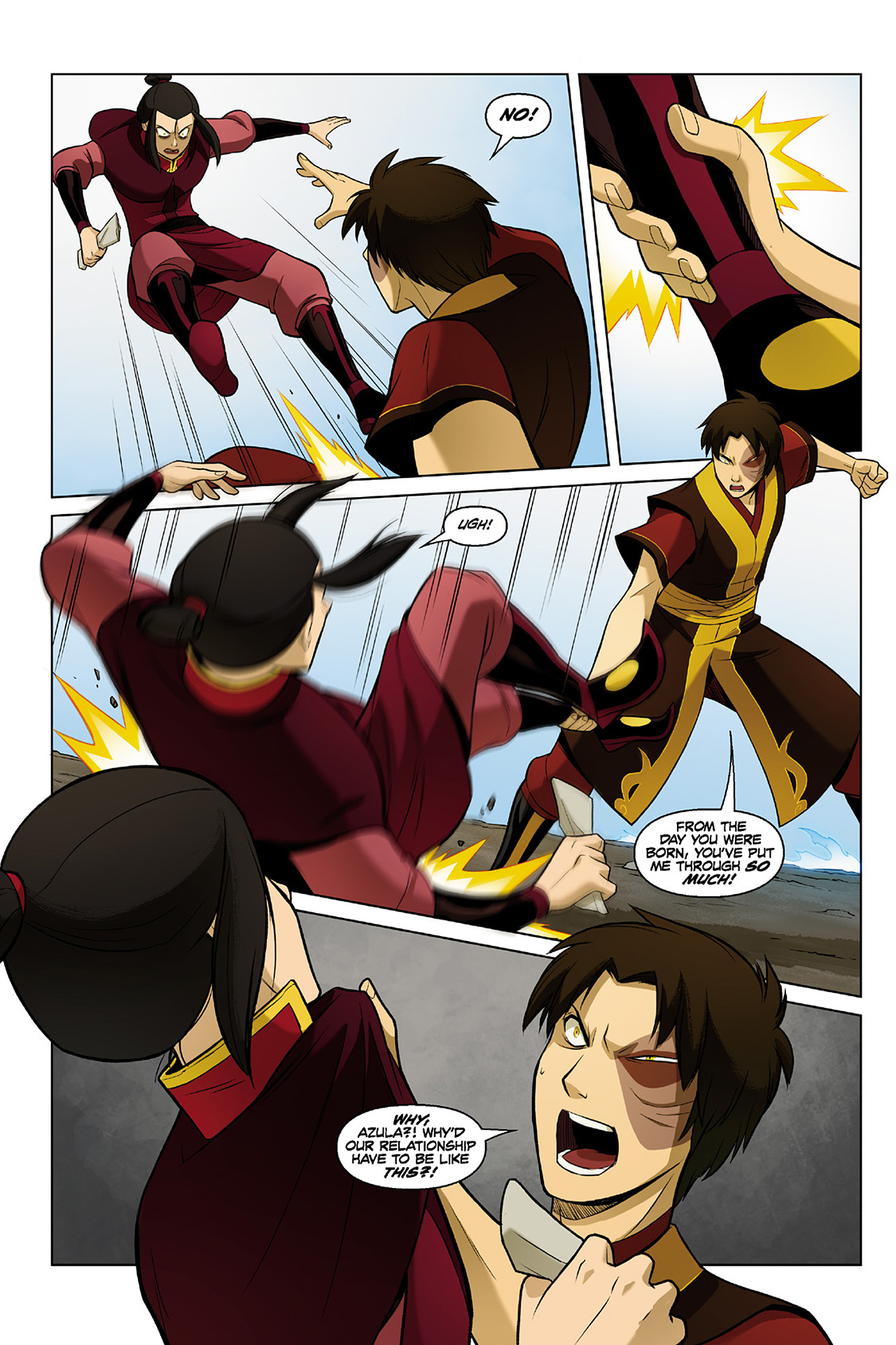 Read online Nickelodeon Avatar: The Last Airbender - The Search comic -  Issue # Part 2 - 16