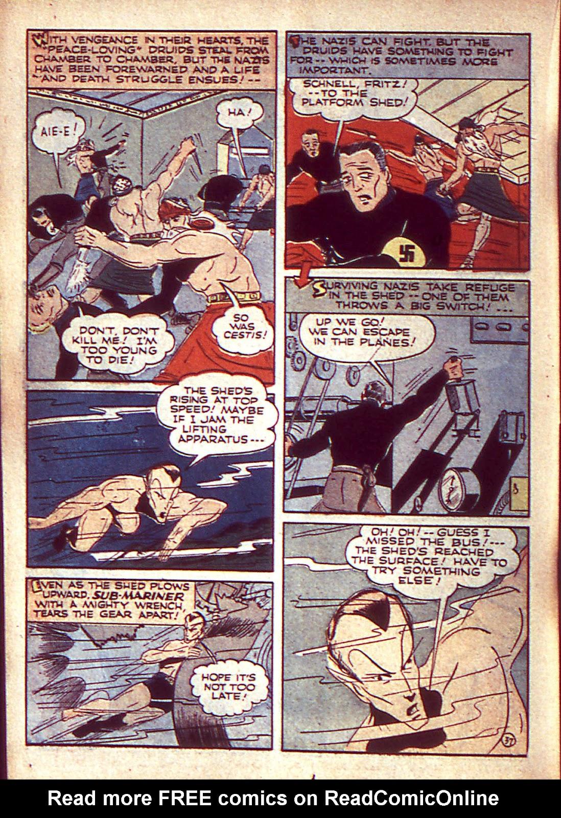Sub-Mariner Comics Issue #3 #3 - English 41
