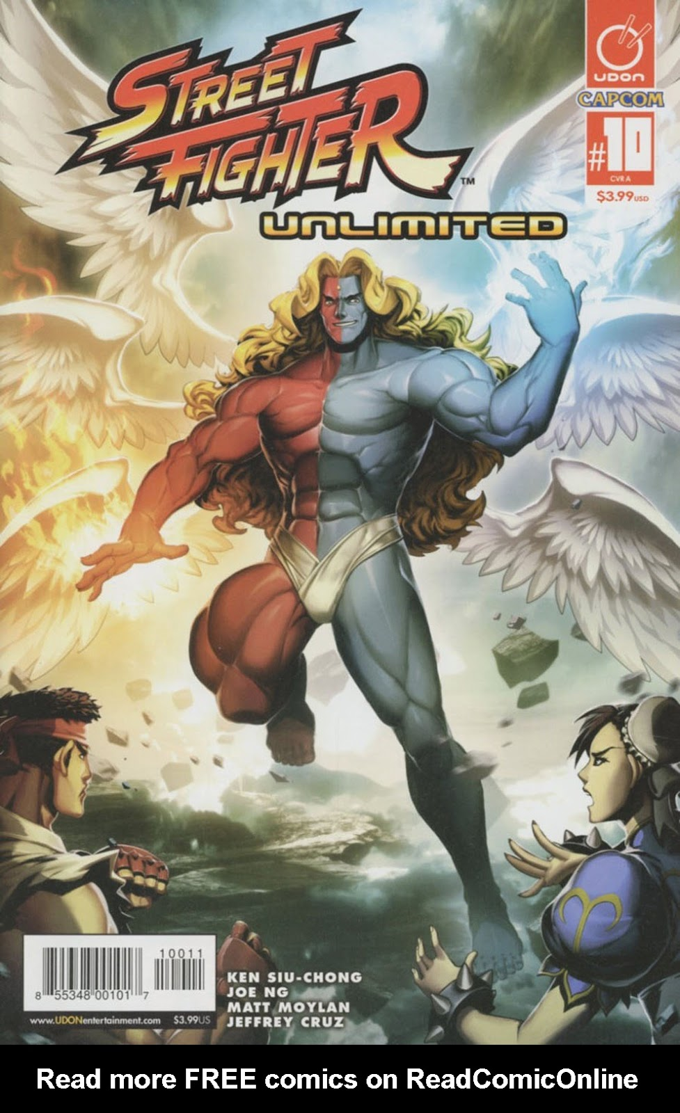 Street Fighter Unlimited Issue #10 #12 - English 1