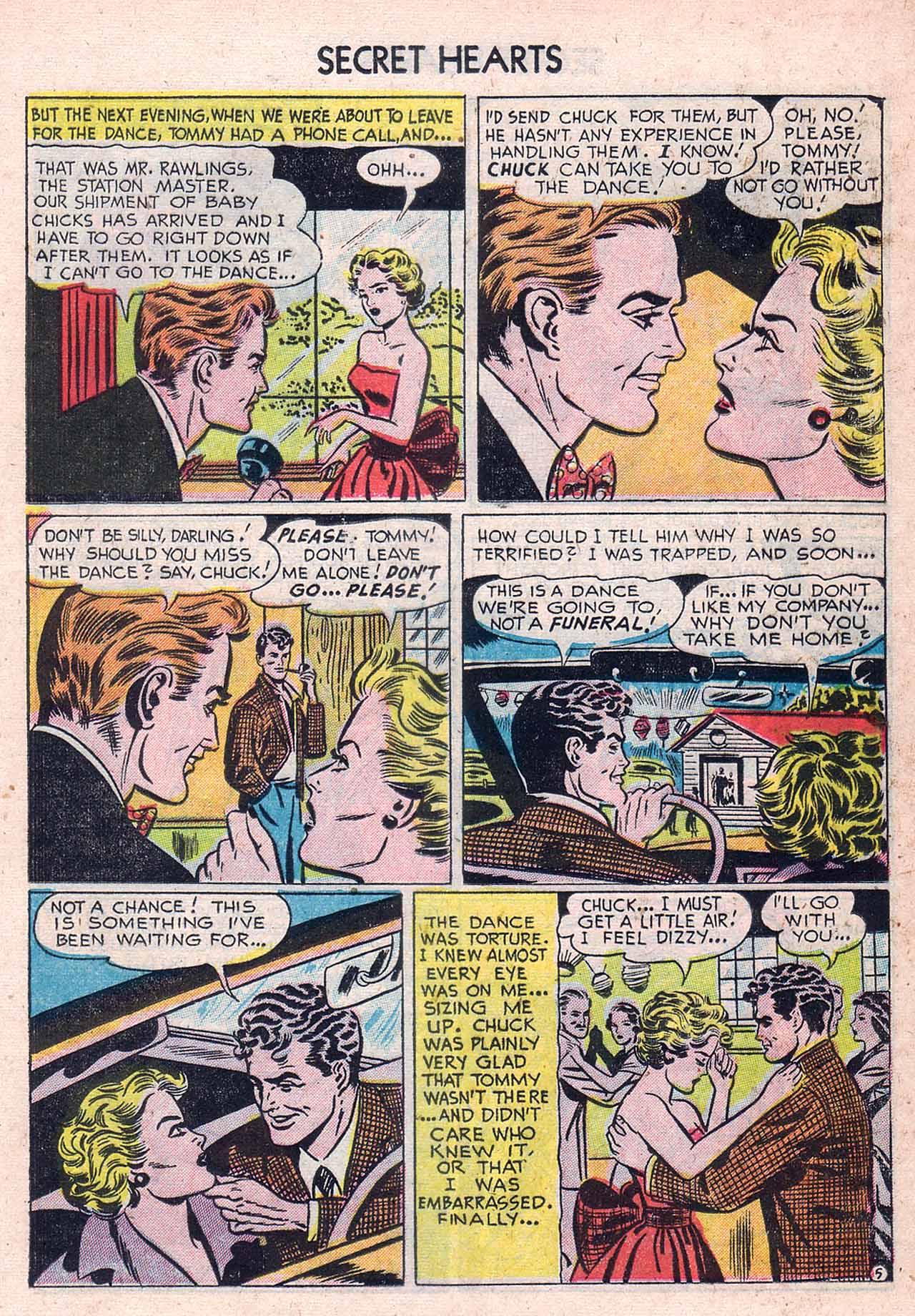 Read online Secret Hearts comic -  Issue #12 - 21