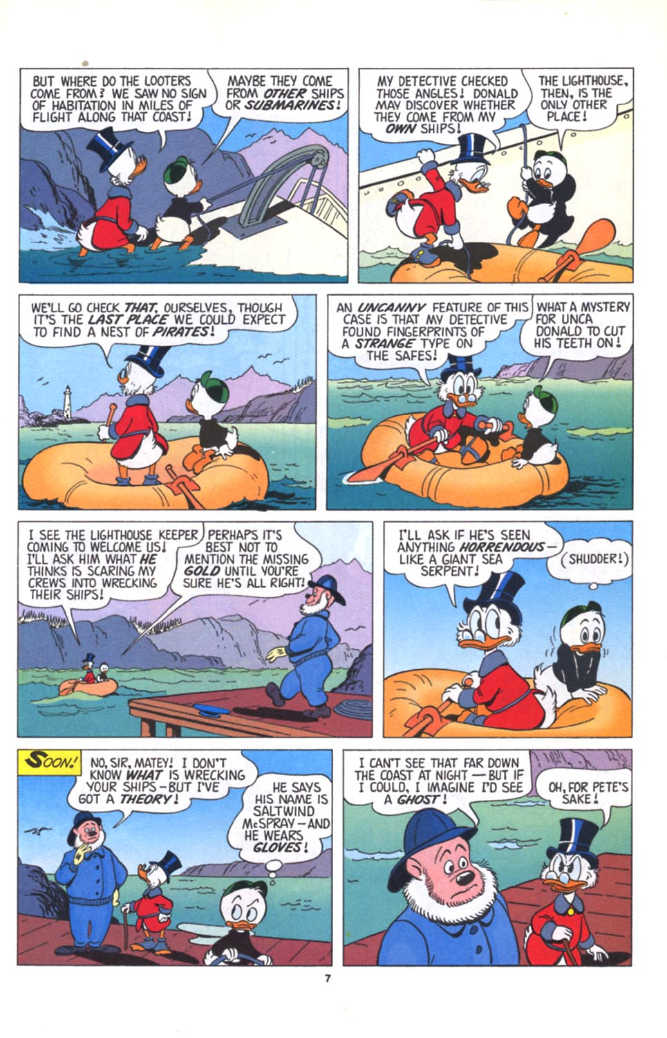 ll>Uncle Scrooge (1953)  #125 - English 8