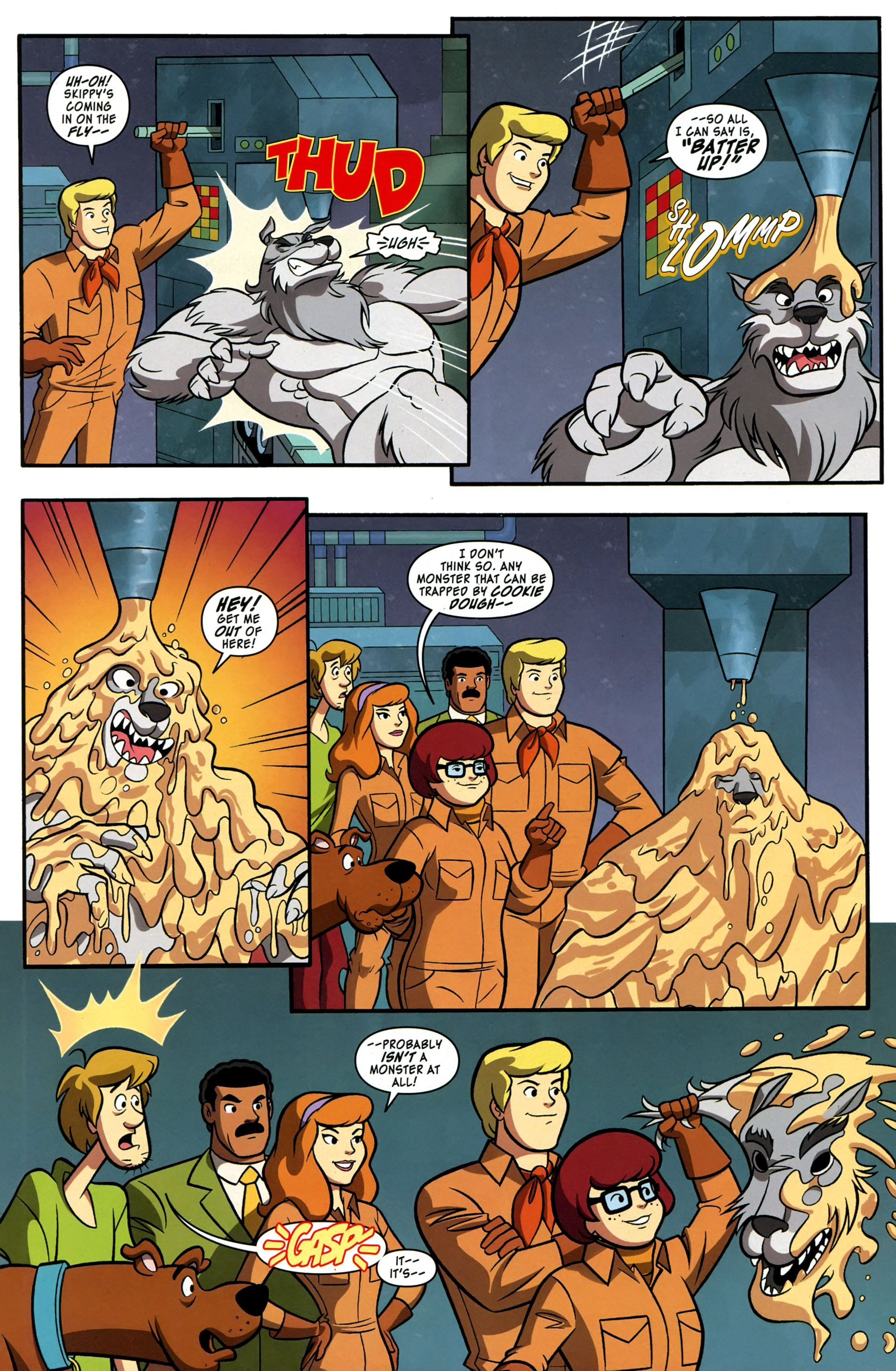 Read online Scooby-Doo: Where Are You? comic -  Issue #37 - 11