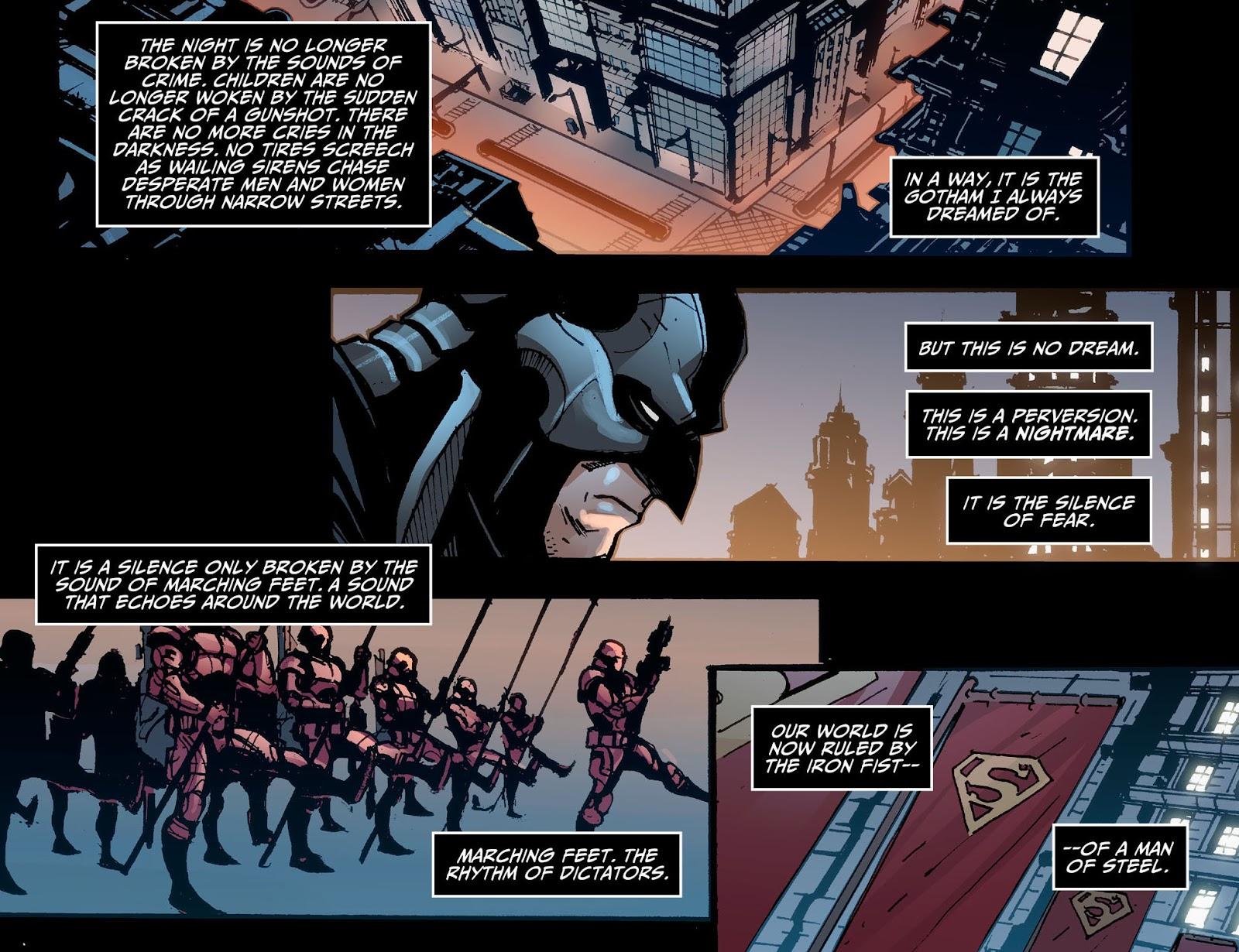 Injustice: Gods Among Us [I] Issue #1 #2 - English 4