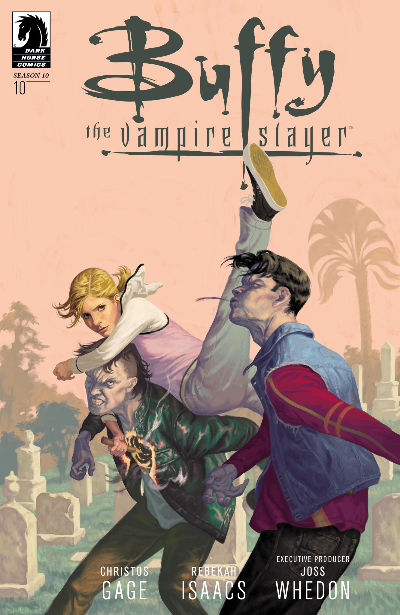Buffy the Vampire Slayer Season Ten 10 Page 1