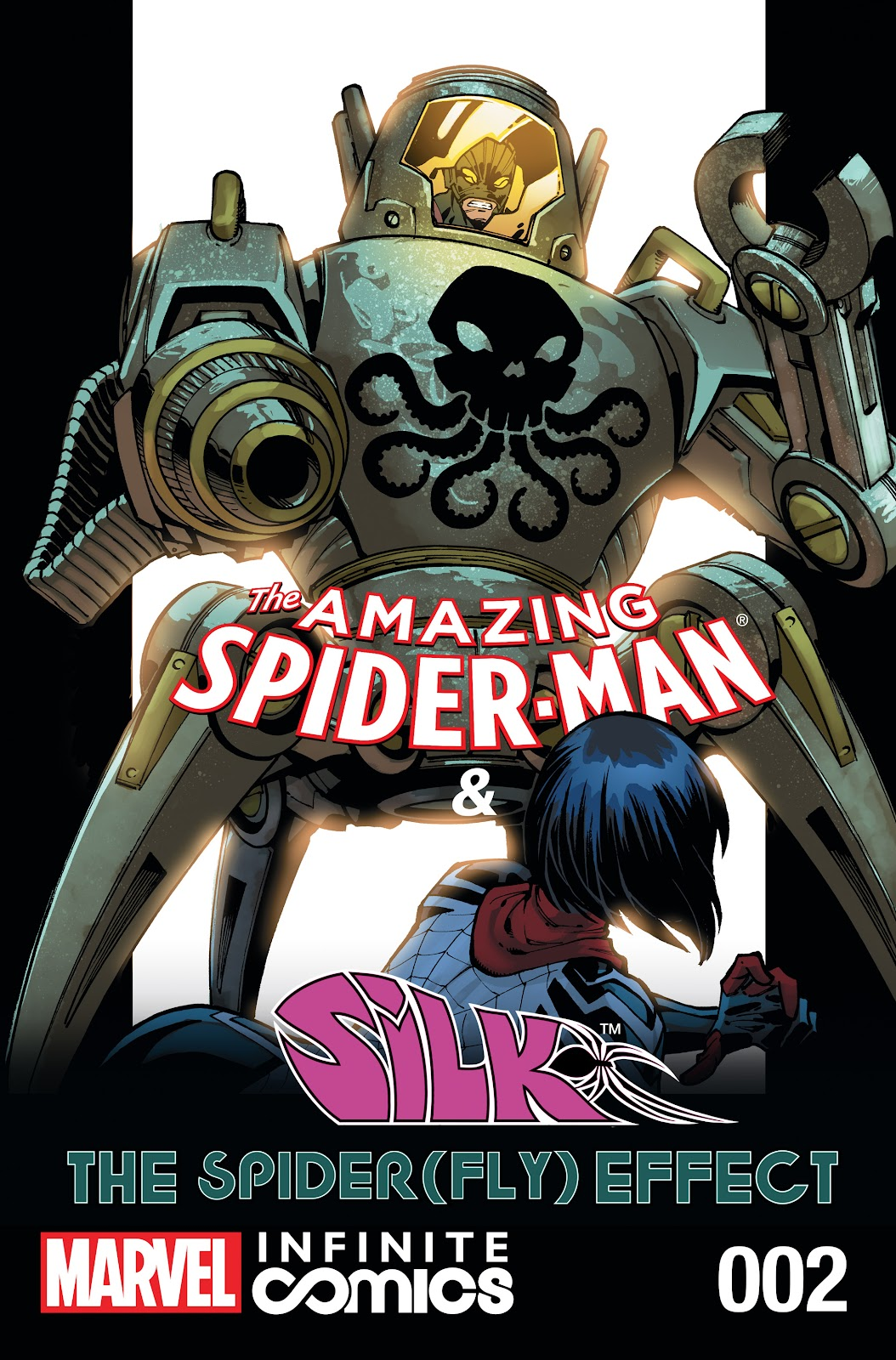 the amazing spider man silk the spider fly effect infinite
