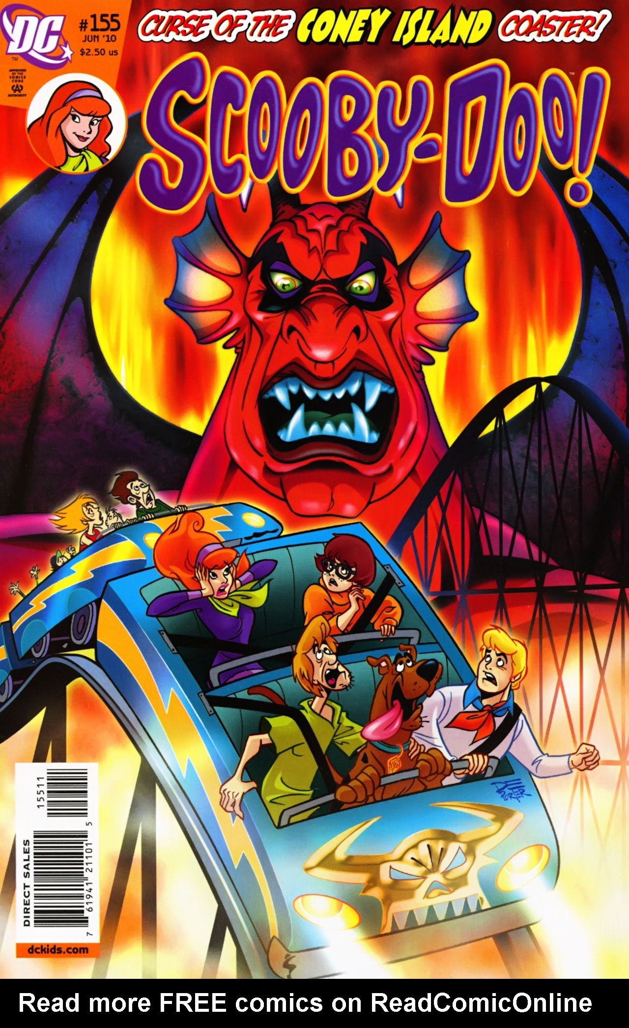 Read online Scooby-Doo (1997) comic -  Issue #155 - 1