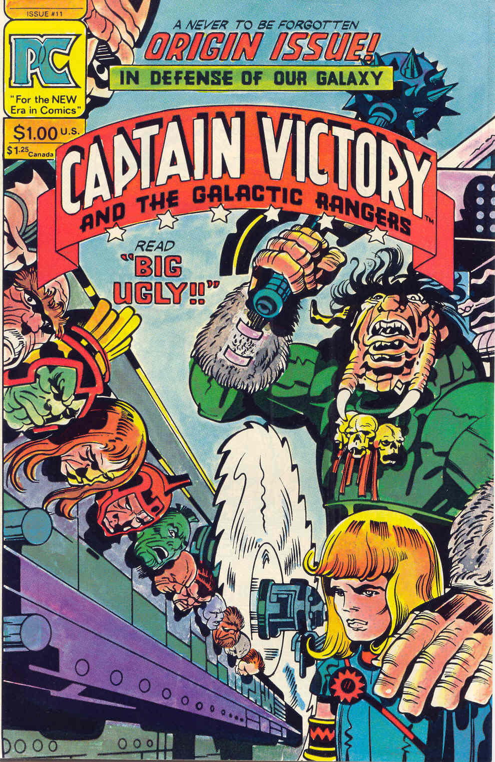 Captain Victory and the Galactic Rangers (1981) 11 Page 1