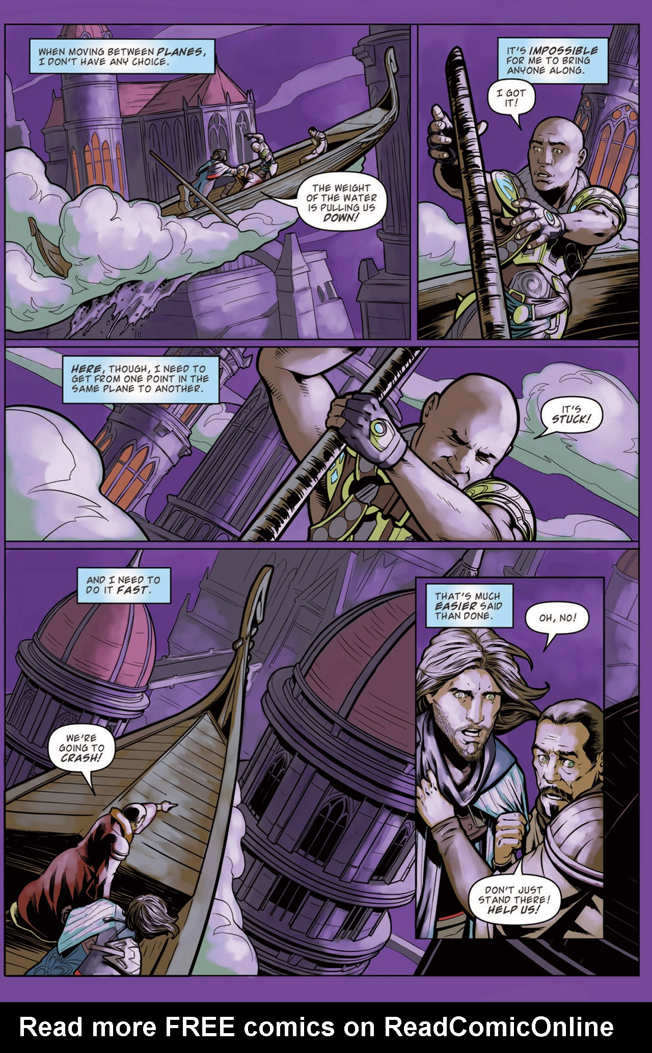 Read online Magic: The Gathering--Path of Vengeance comic -  Issue #3 - 8