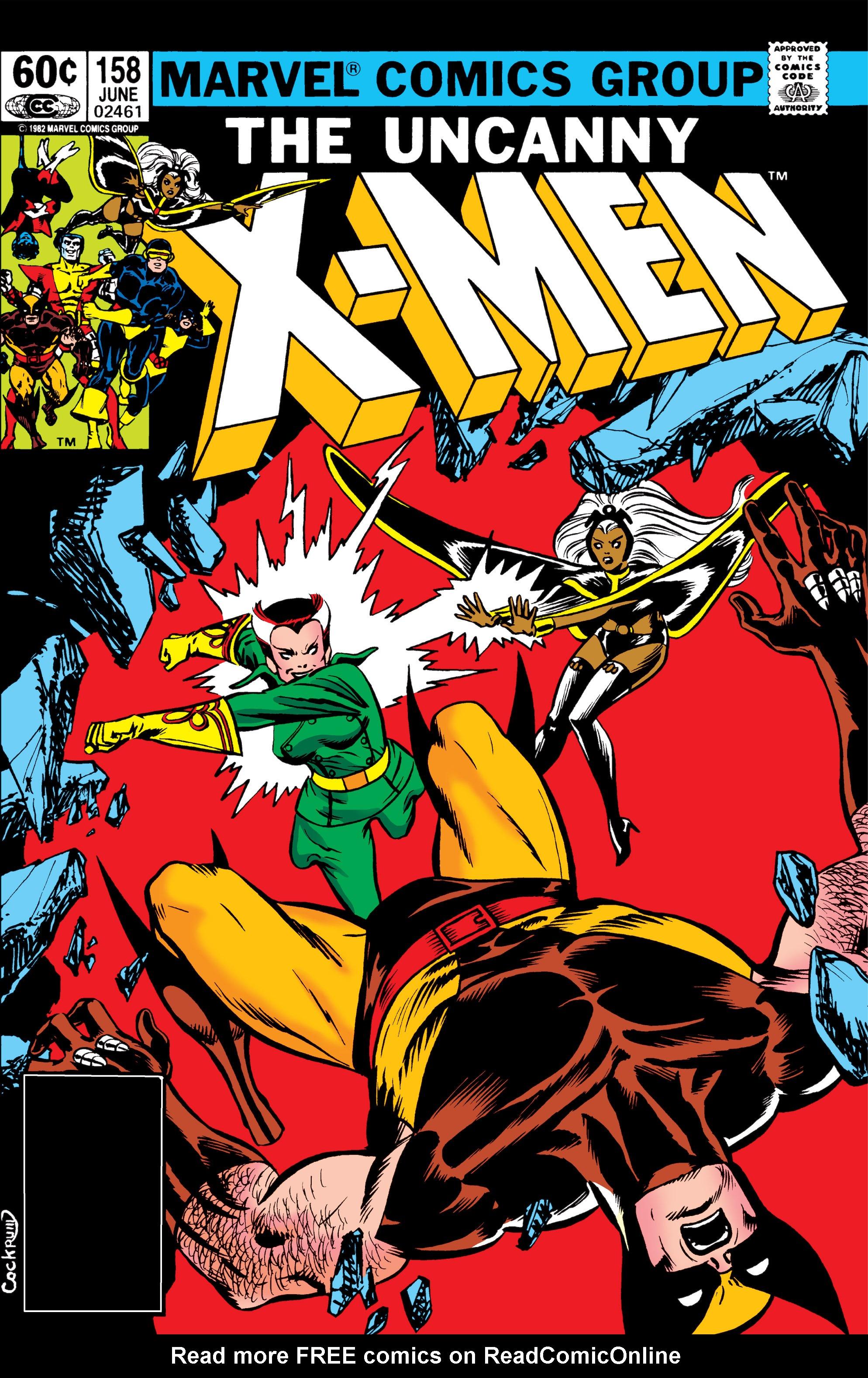 Uncanny X-Men (1963) 158 Page 1