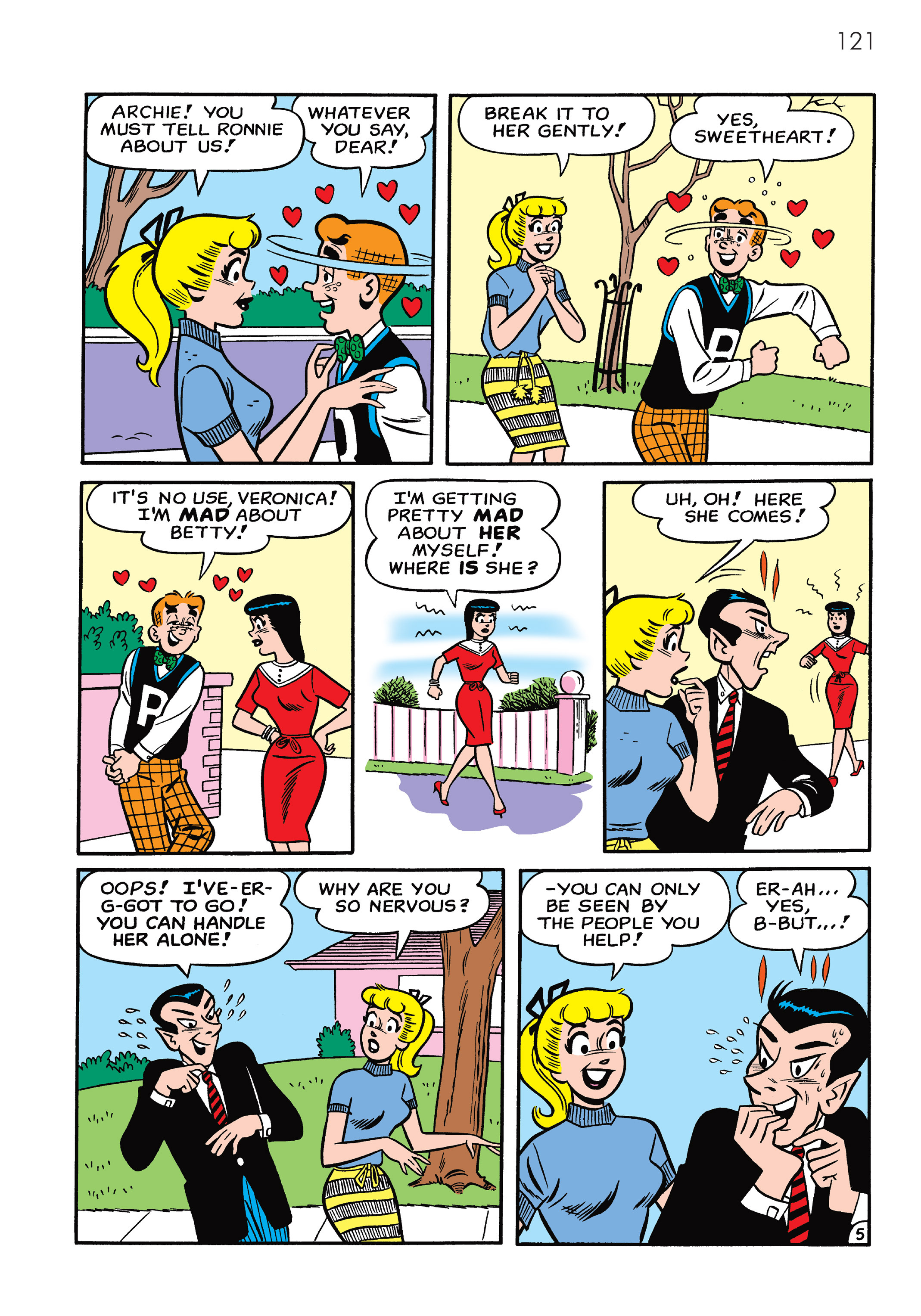 Read online The Best of Archie Comics comic -  Issue # TPB 4 (Part 1) - 122
