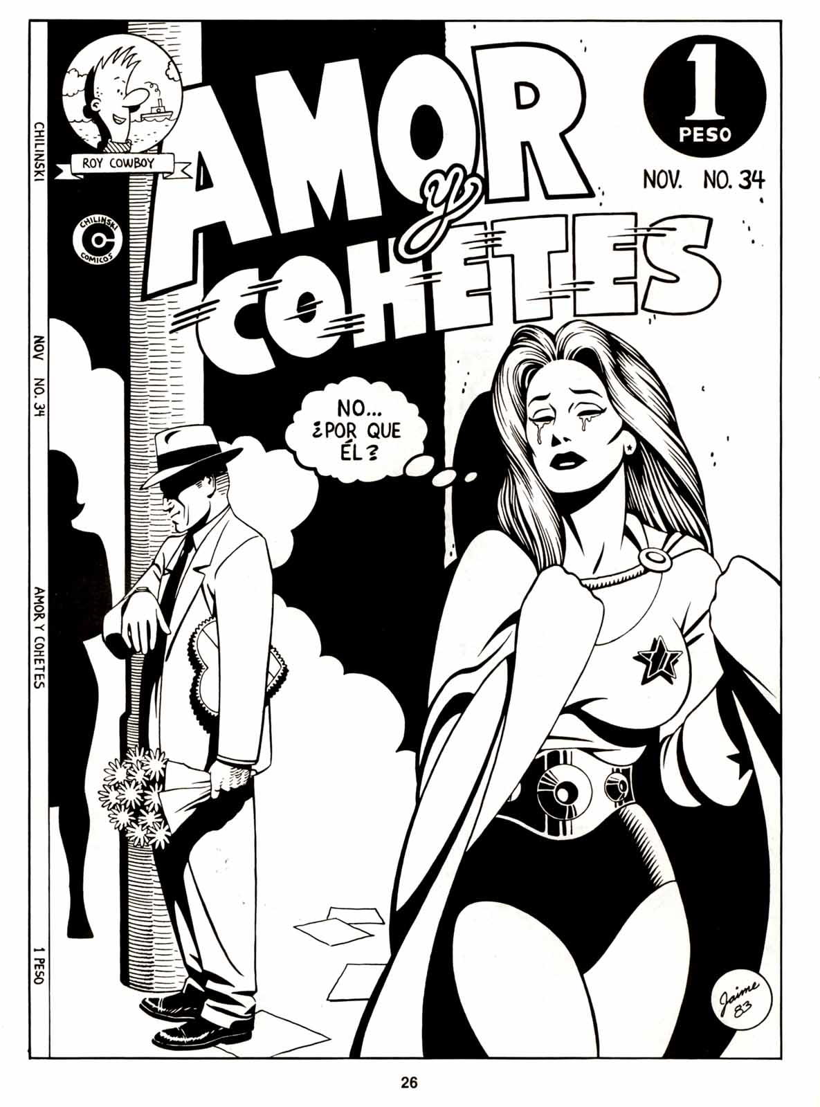 Love and Rockets (1982) Issue #6 #5 - English 28