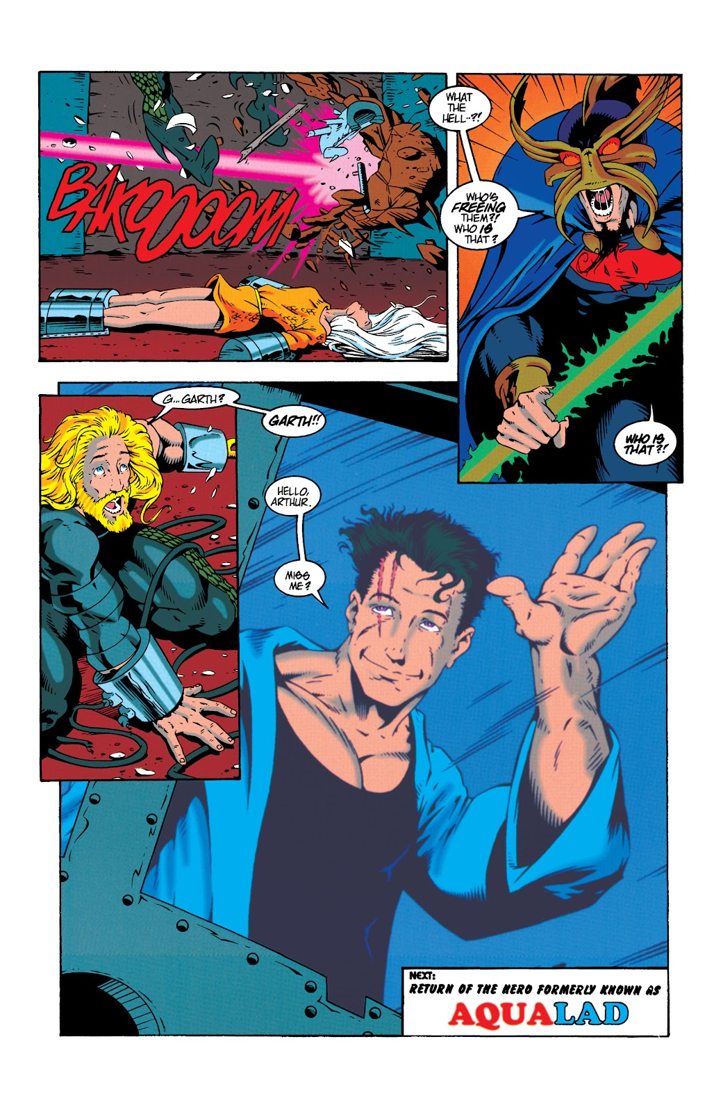 Aquaman (1994) Issue #19 #25 - English 22