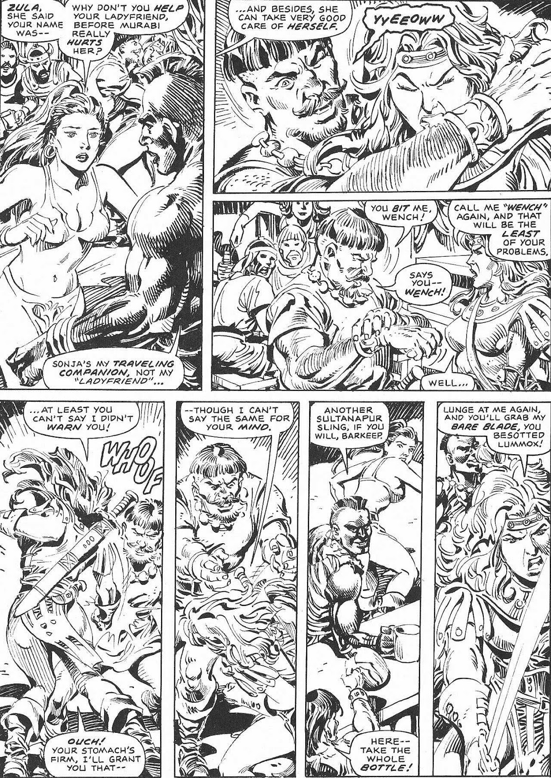 The Savage Sword Of Conan Issue #207 #208 - English 57