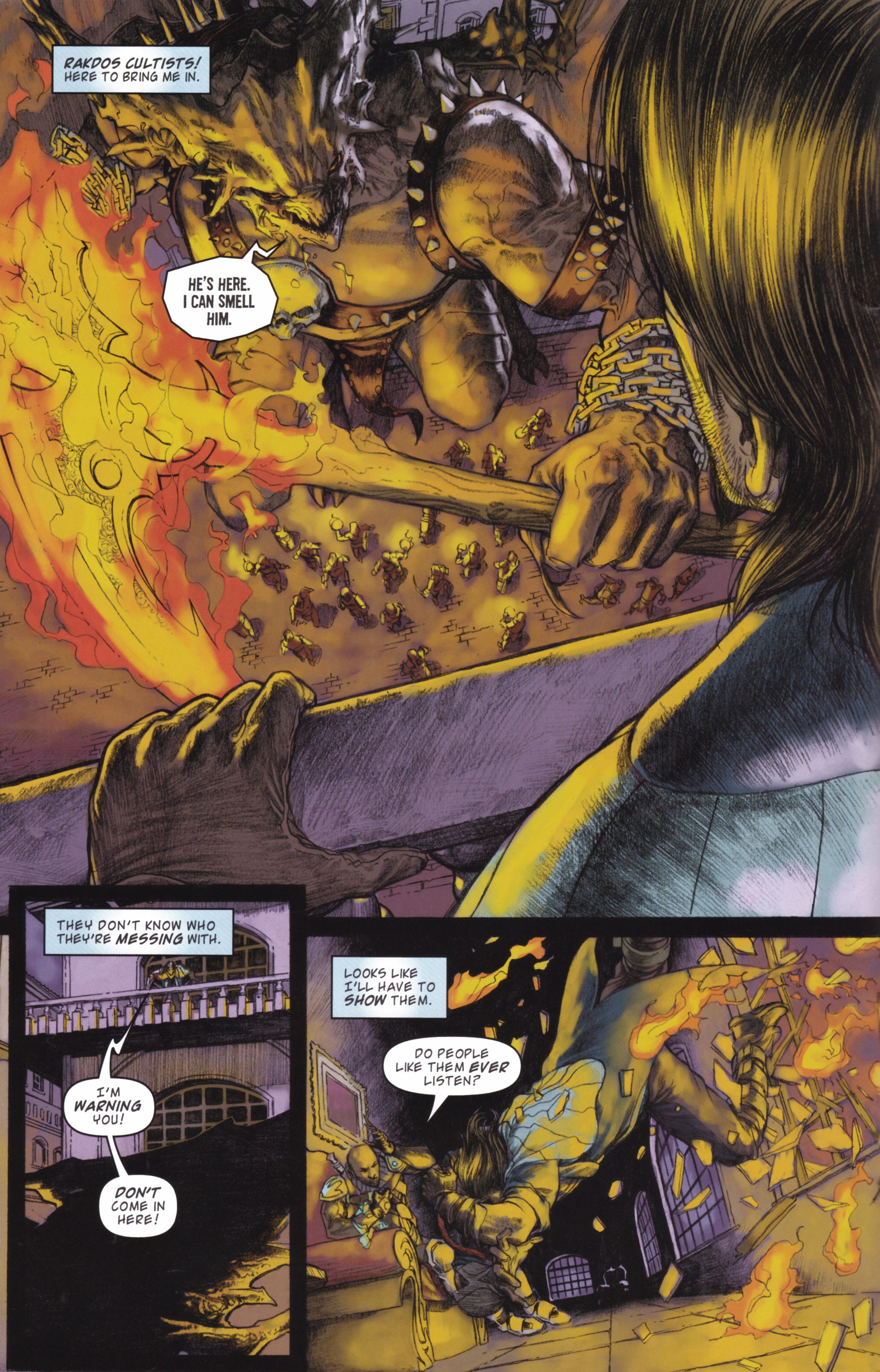 Read online Magic: The Gathering--Path of Vengeance comic -  Issue #2 - 6