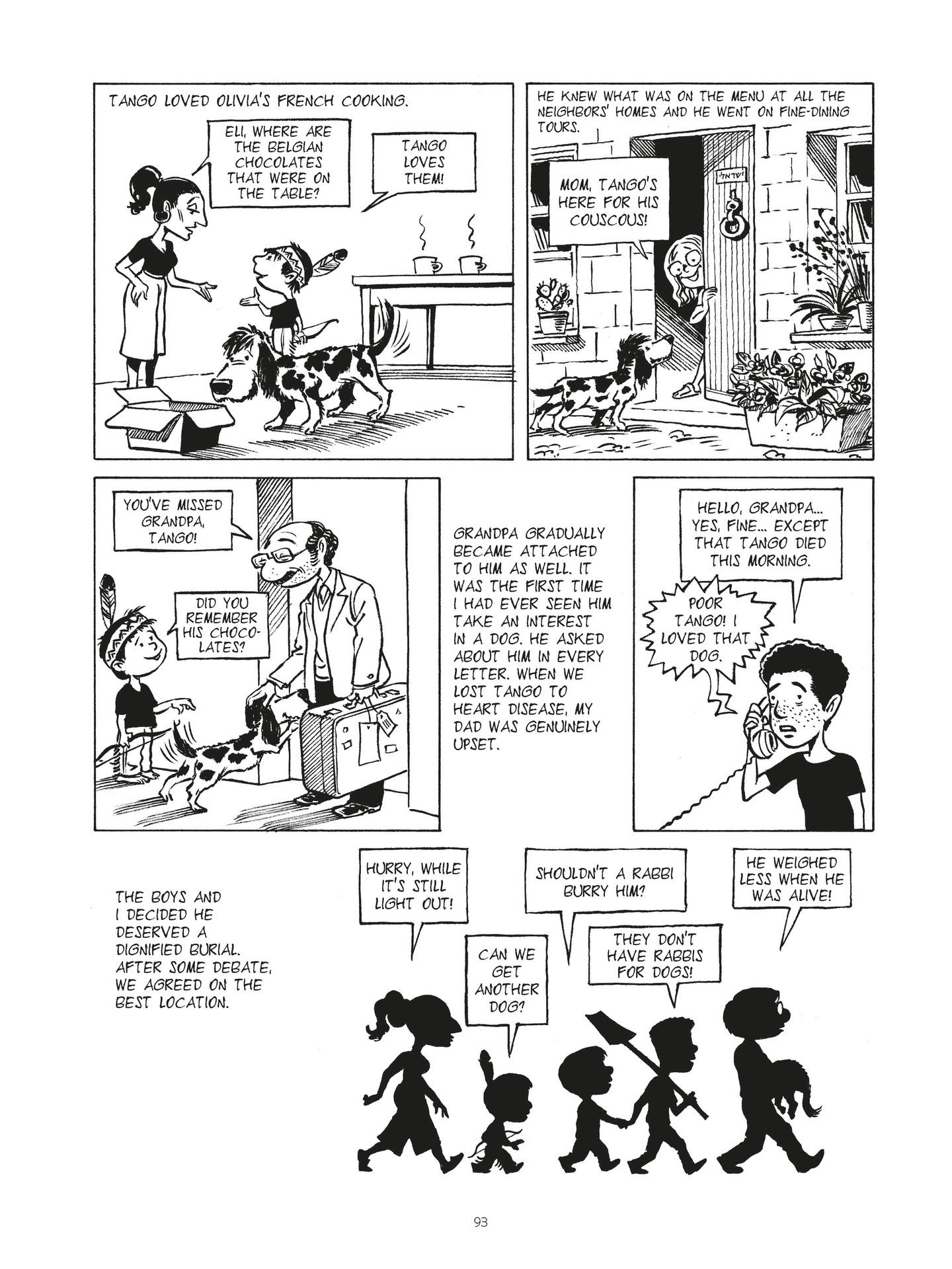 Read online Second Generation - The Things I Didn't Tell My Father comic -  Issue # Full - 90