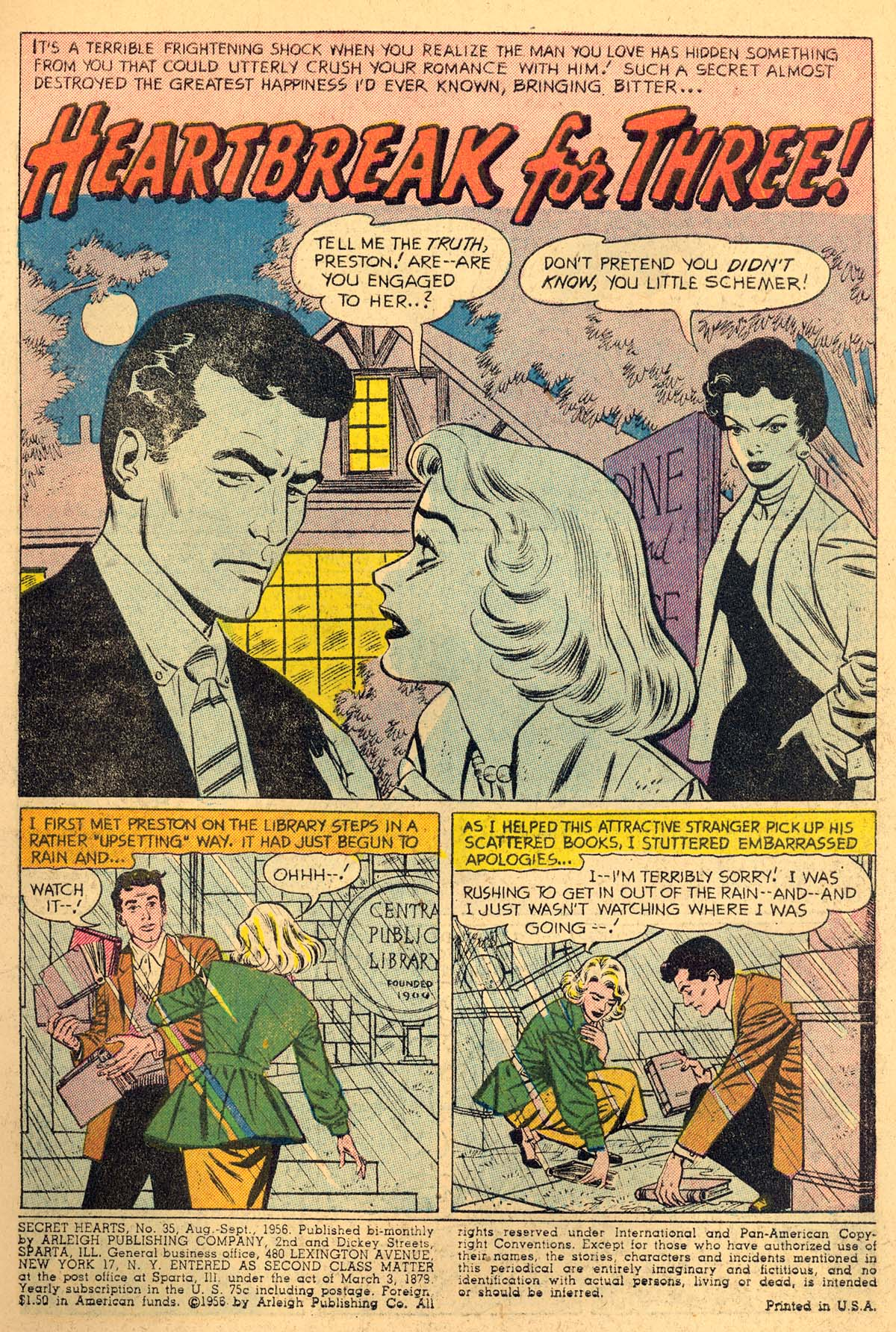 Read online Secret Hearts comic -  Issue #35 - 3
