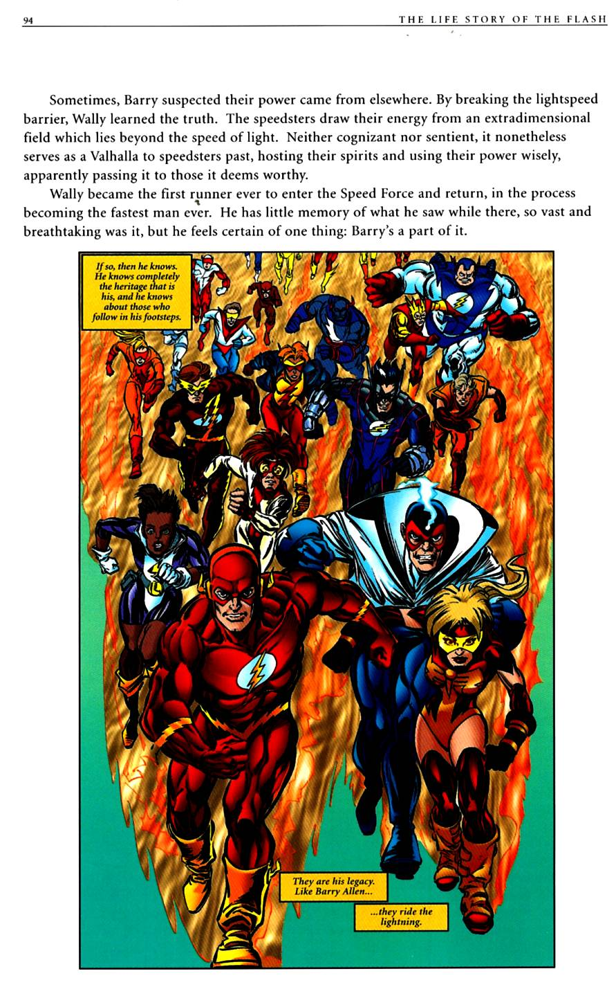 Read online The Life Story of the Flash comic -  Issue # Full - 96